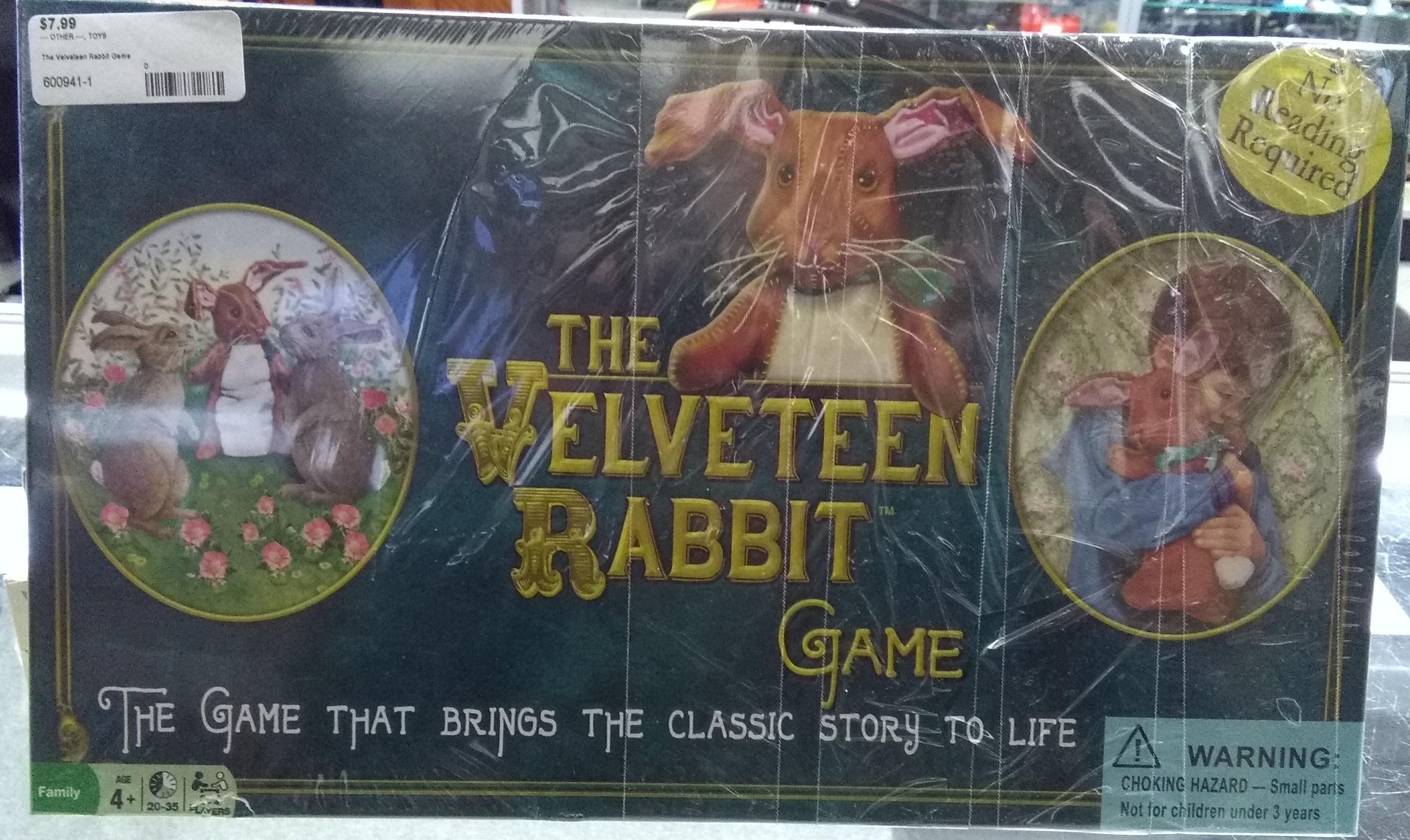 The Velveteen Rabbit Game Boardgame