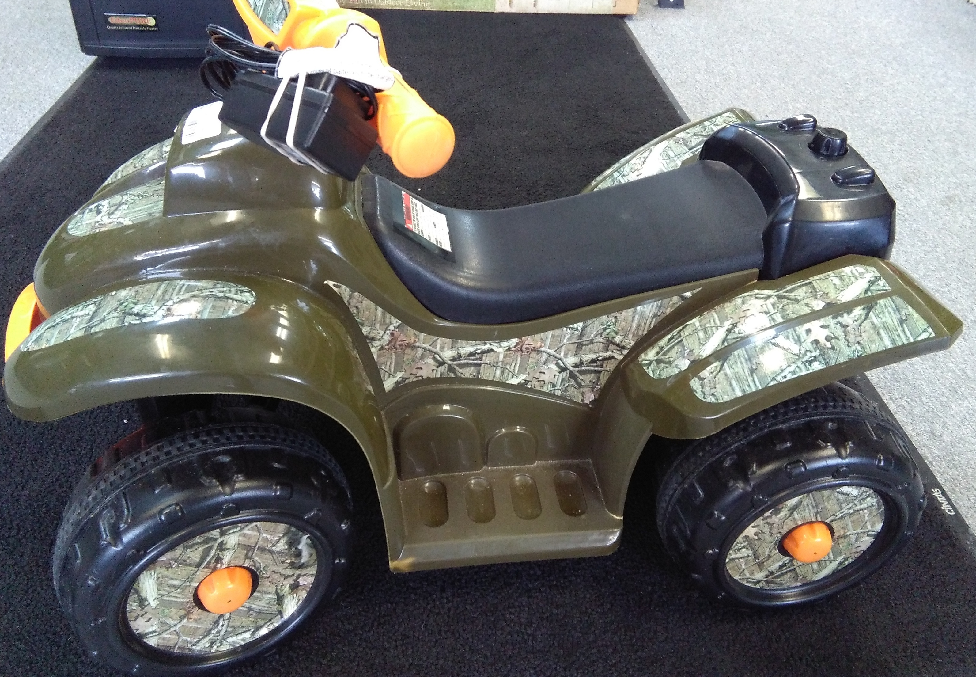 Mossy Oak Ride-On 4-Wheeler