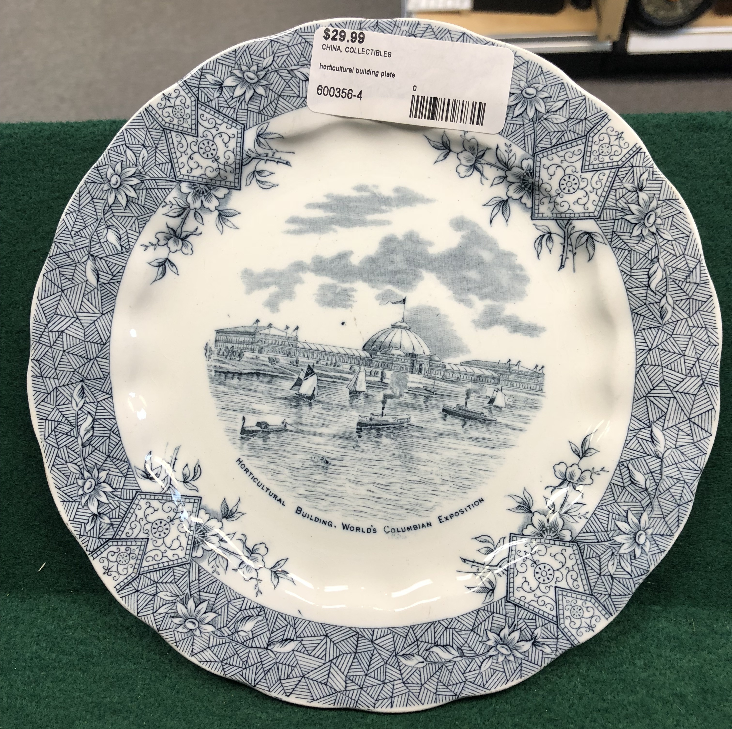 Horticultural Building Plate