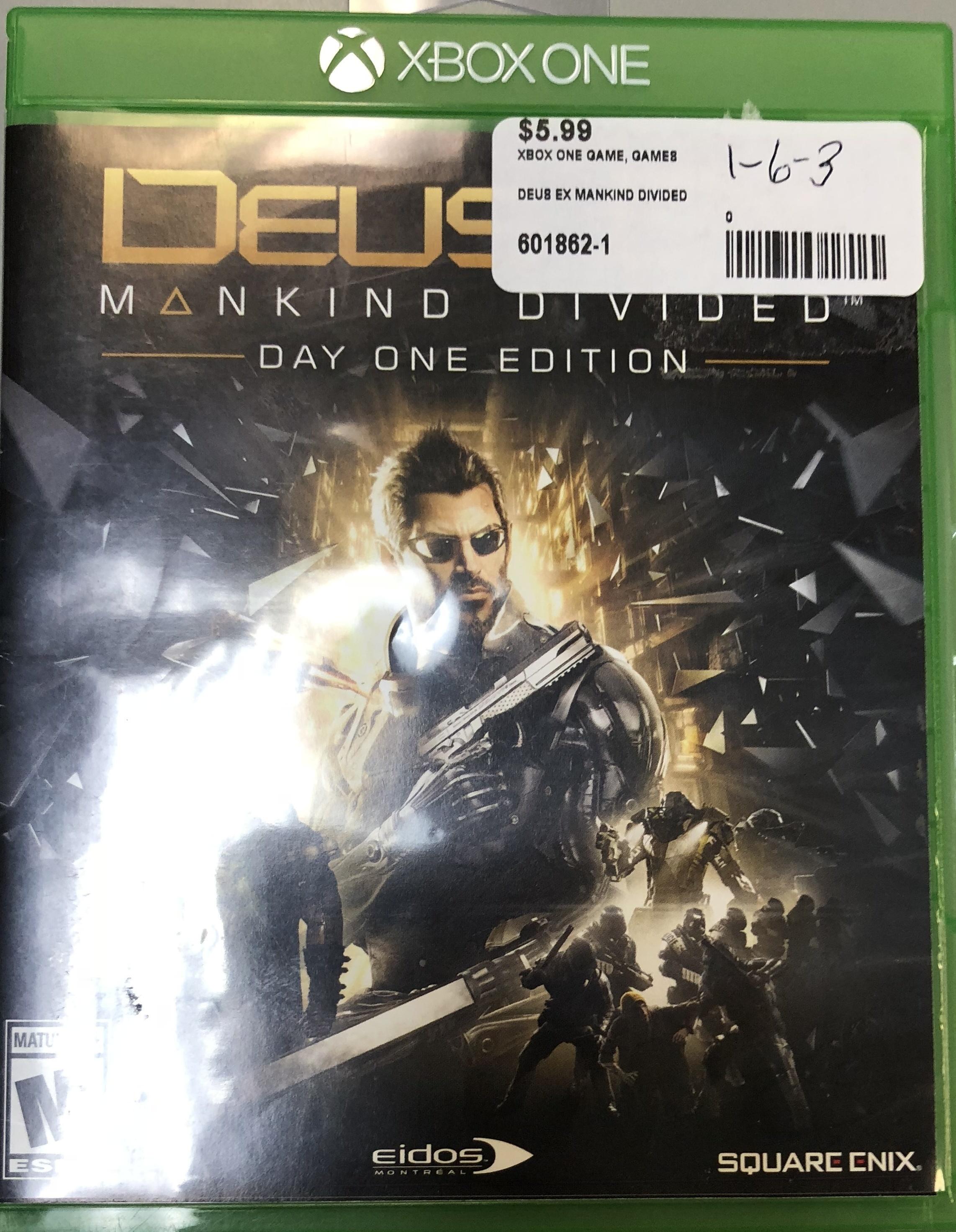 Deus Ex Mankind jDivided