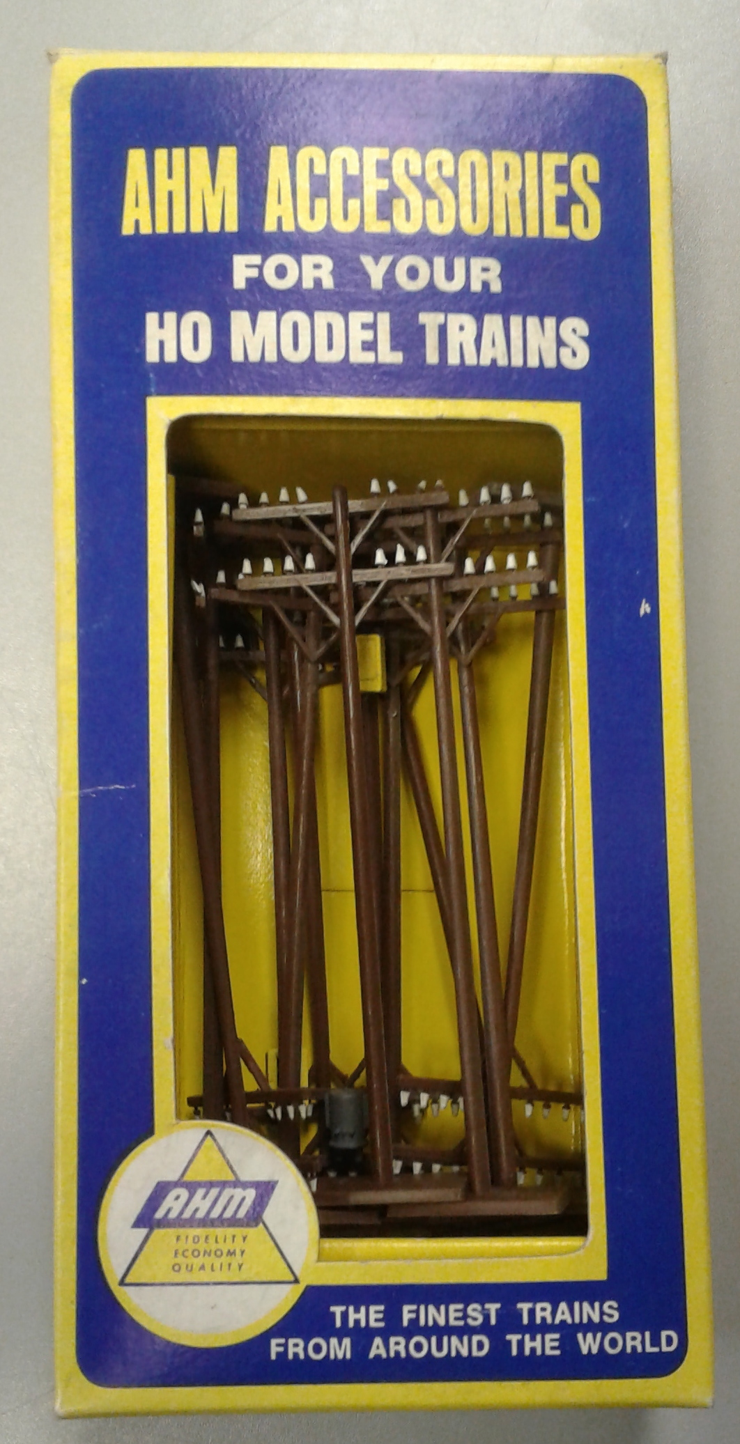 AHM Accessories HO Scale: Telephone Poles