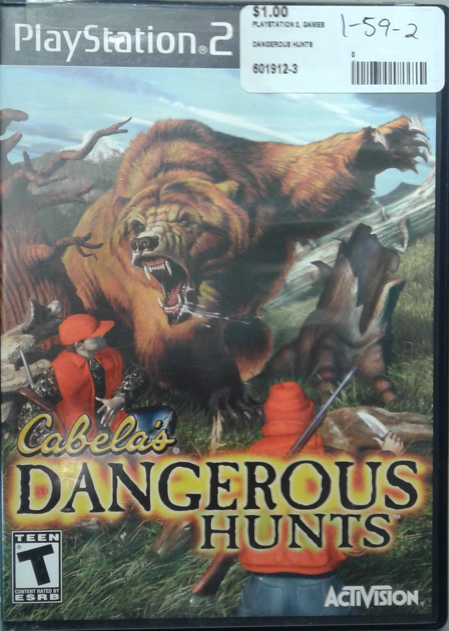 DANGEROUS HUNTS FOR PS 2