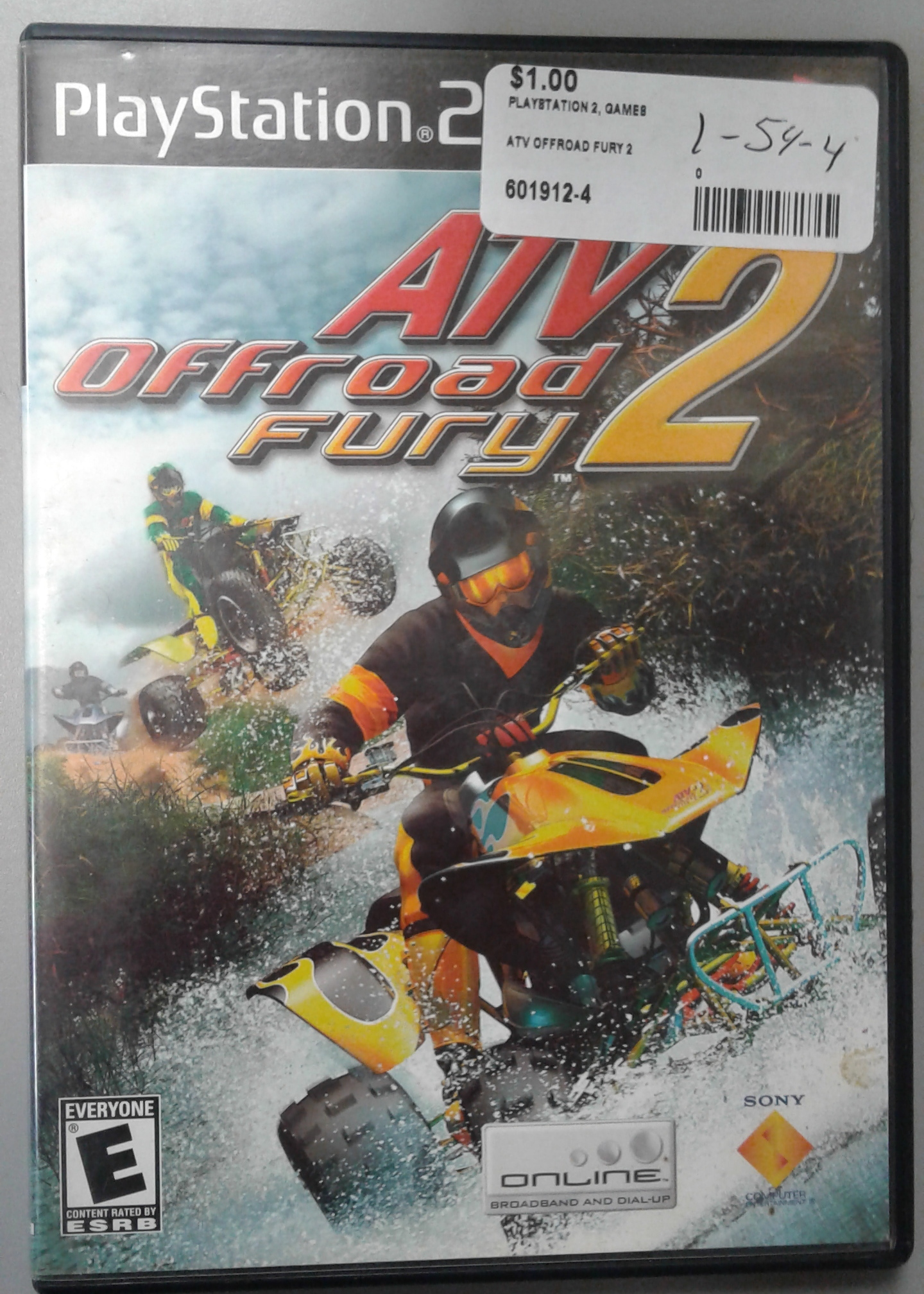 ATV OFFROAD FURY 2 FOR PS  2