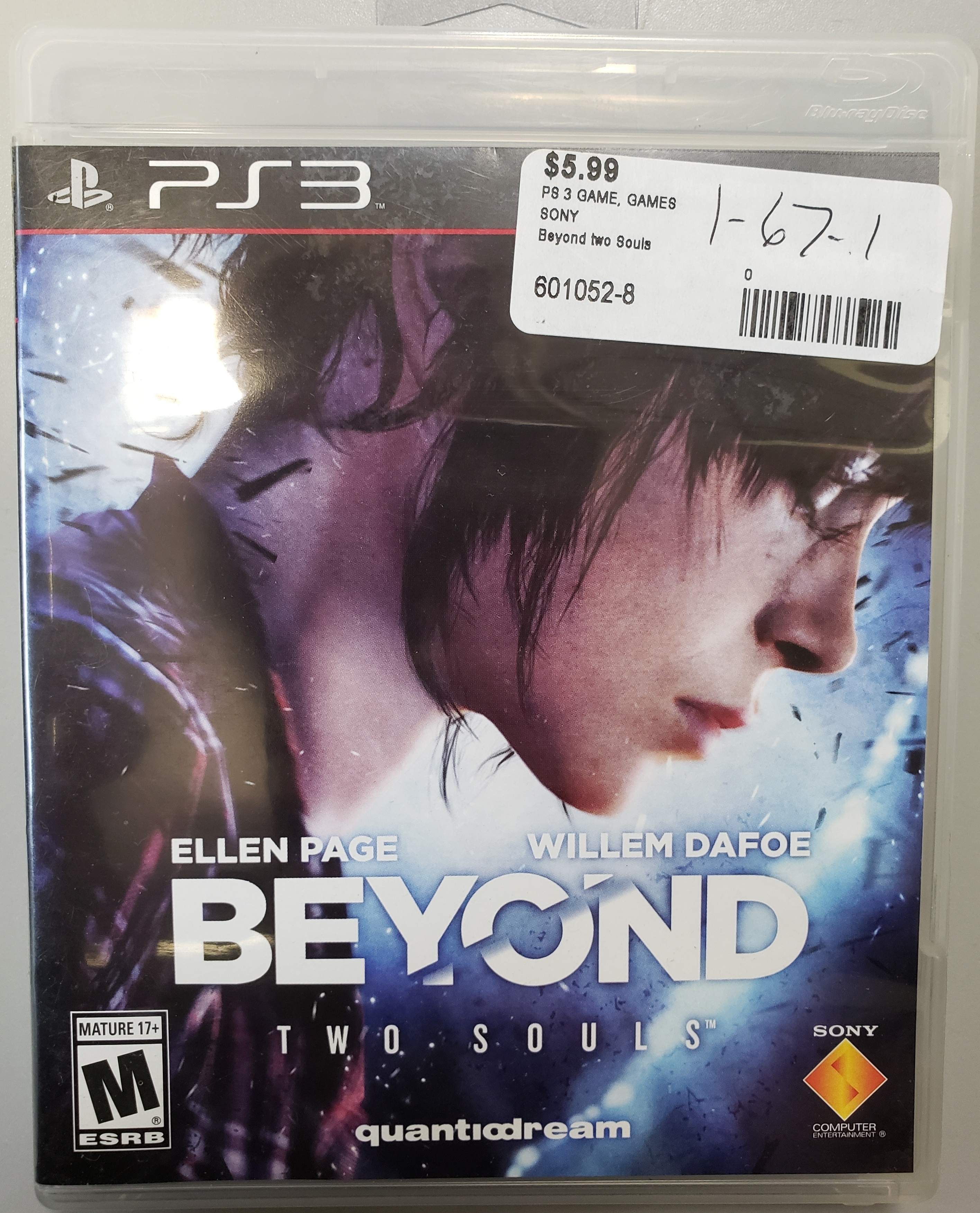 BEYOND TWO SOULS - PS3 GAME