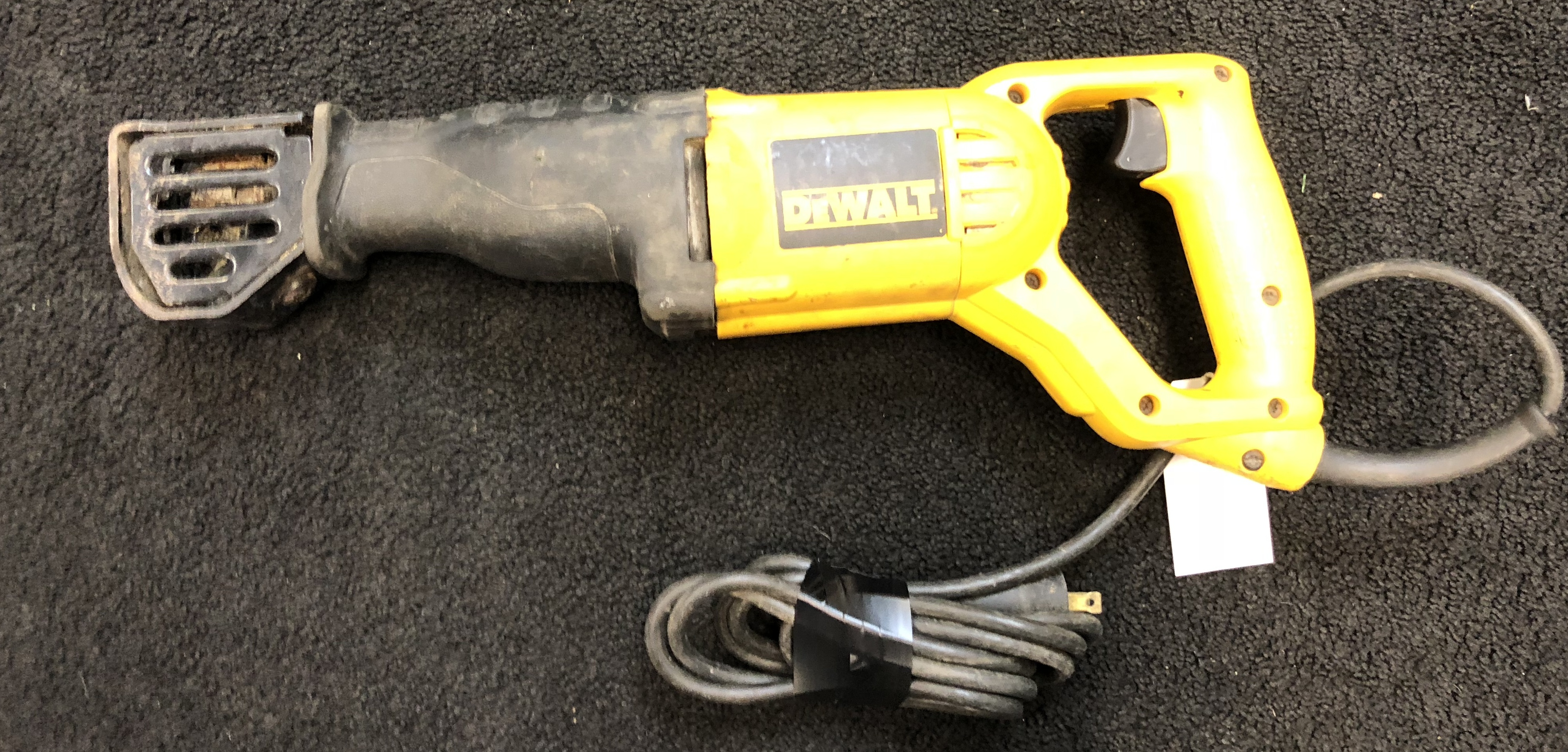 DEWALT DW304P QUICK RELEASE RECIPROCATING SAW