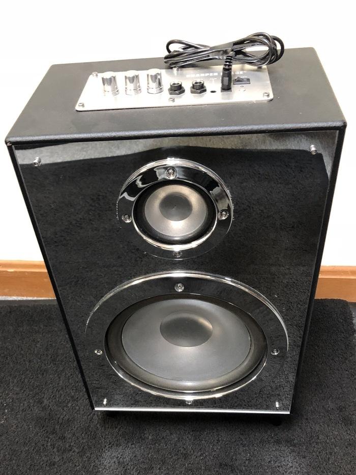 Sharper Image Model Sbt1023 Led Light Up Bluetooth Mic Speaker Ebay