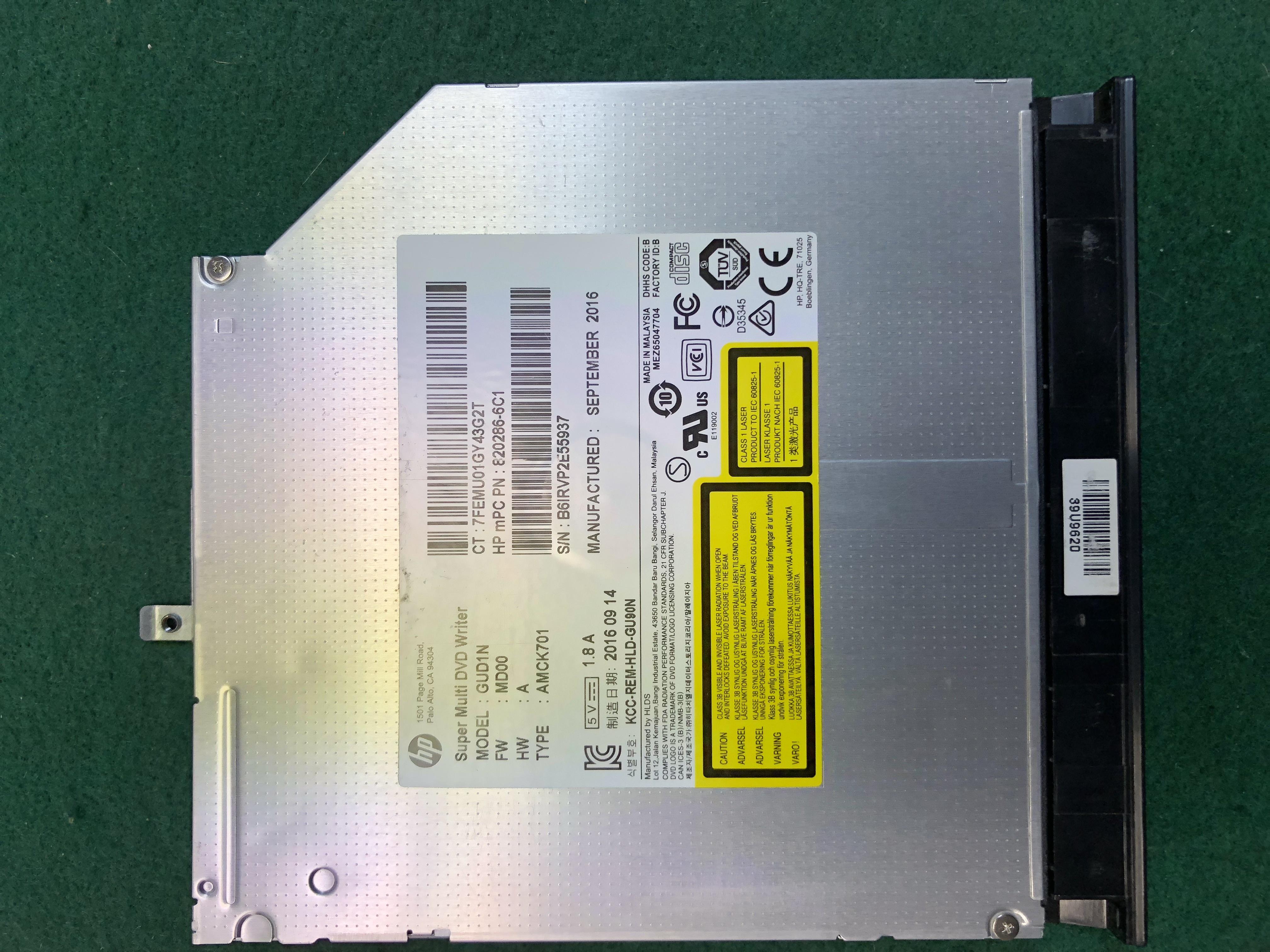 HP Super Multi DVD Writer GUD1N