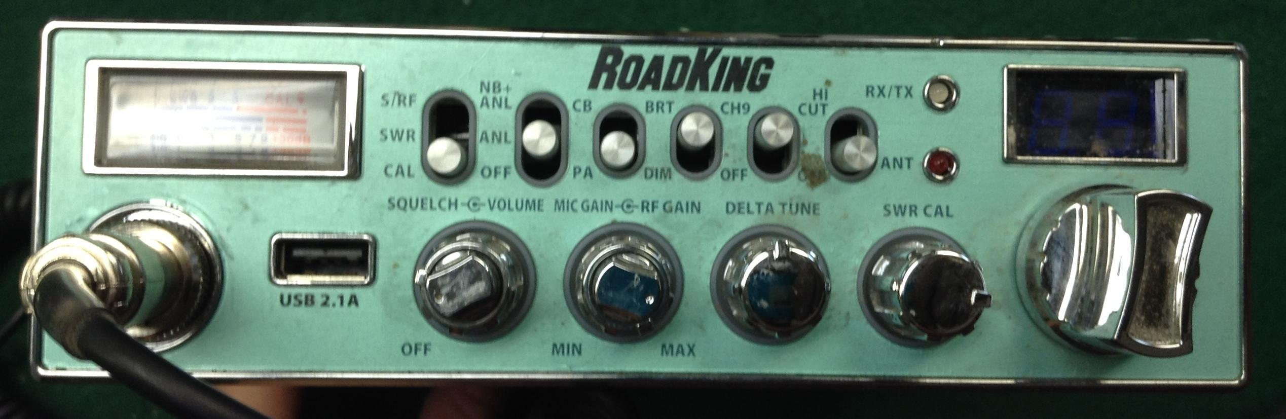 ROADKING Model: RK5640 CB-RADIO WITH HAND MIC