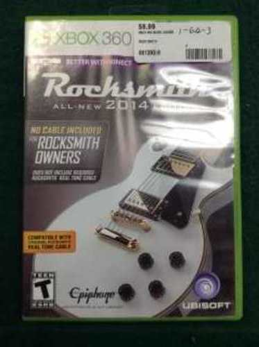 ROCK SMITH - XBOX 360 GAME