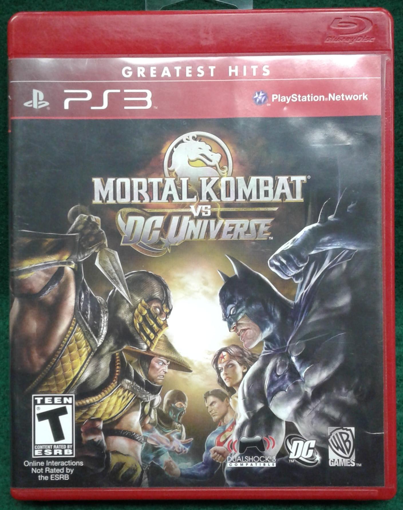 MORTAL KOMBAT VS. DC UNIVERSE FOR PS3
