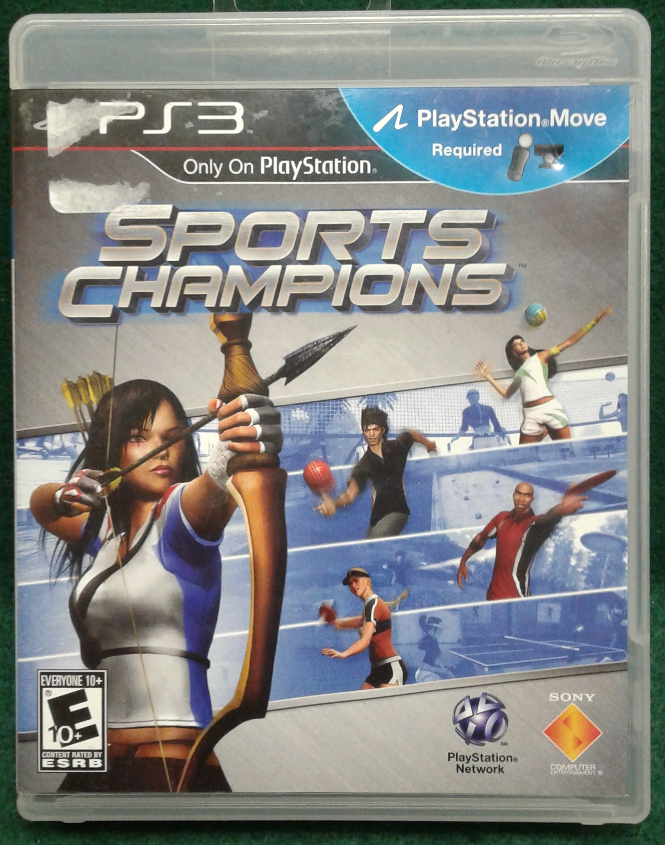 SPORTS CHAMPIONS FOR PS 3