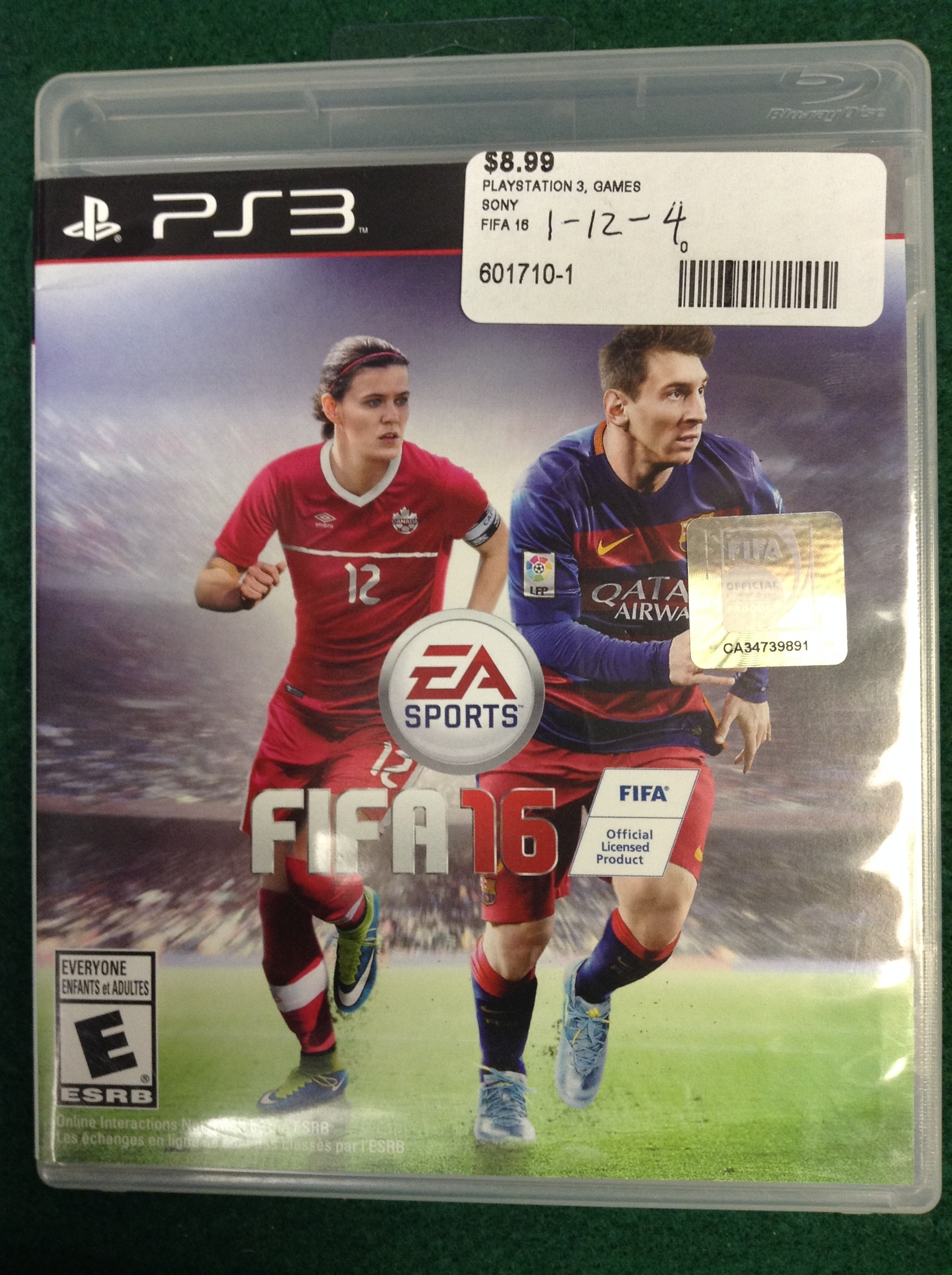 FIFA 16 FOR PS 3