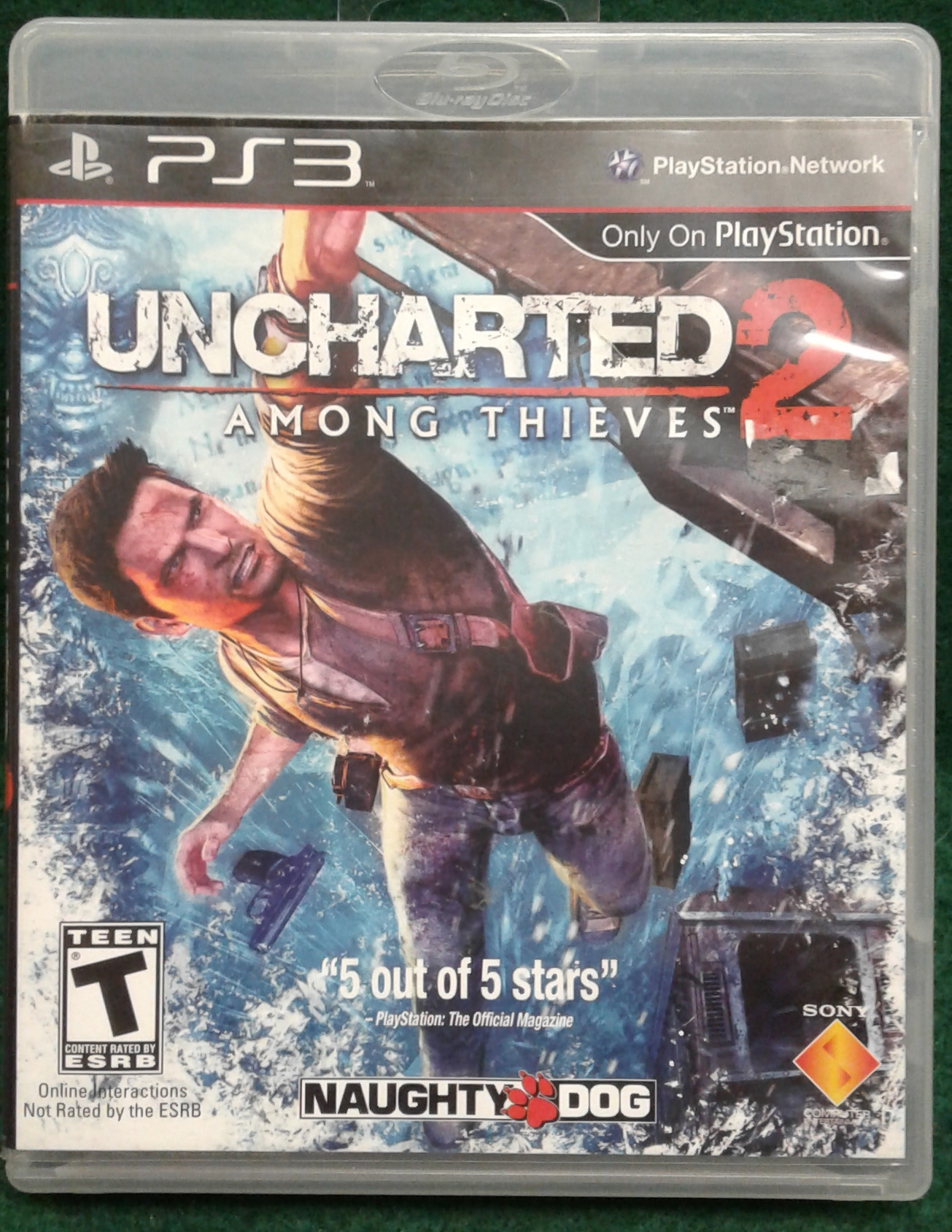 UNCHARTED 2 - PS3 GAME