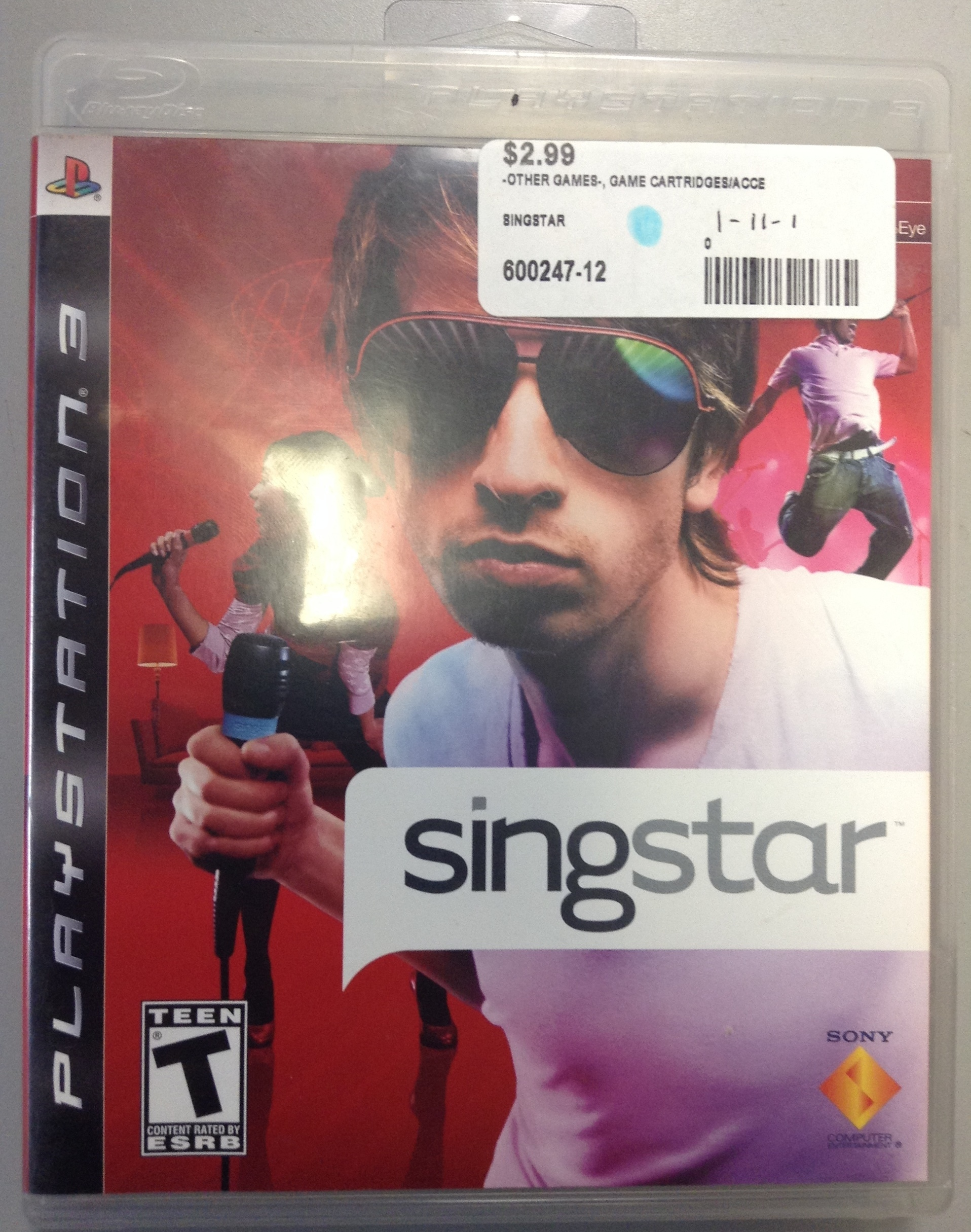 SINGSTAR FOR PS 3