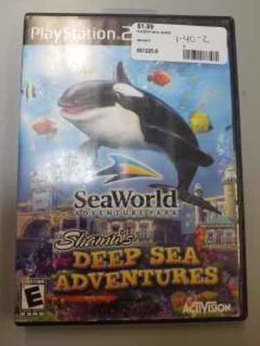 SEA WORLD ADVENTURE PARK PS2