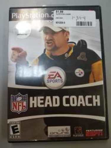 NFL HEAD COACH PS2