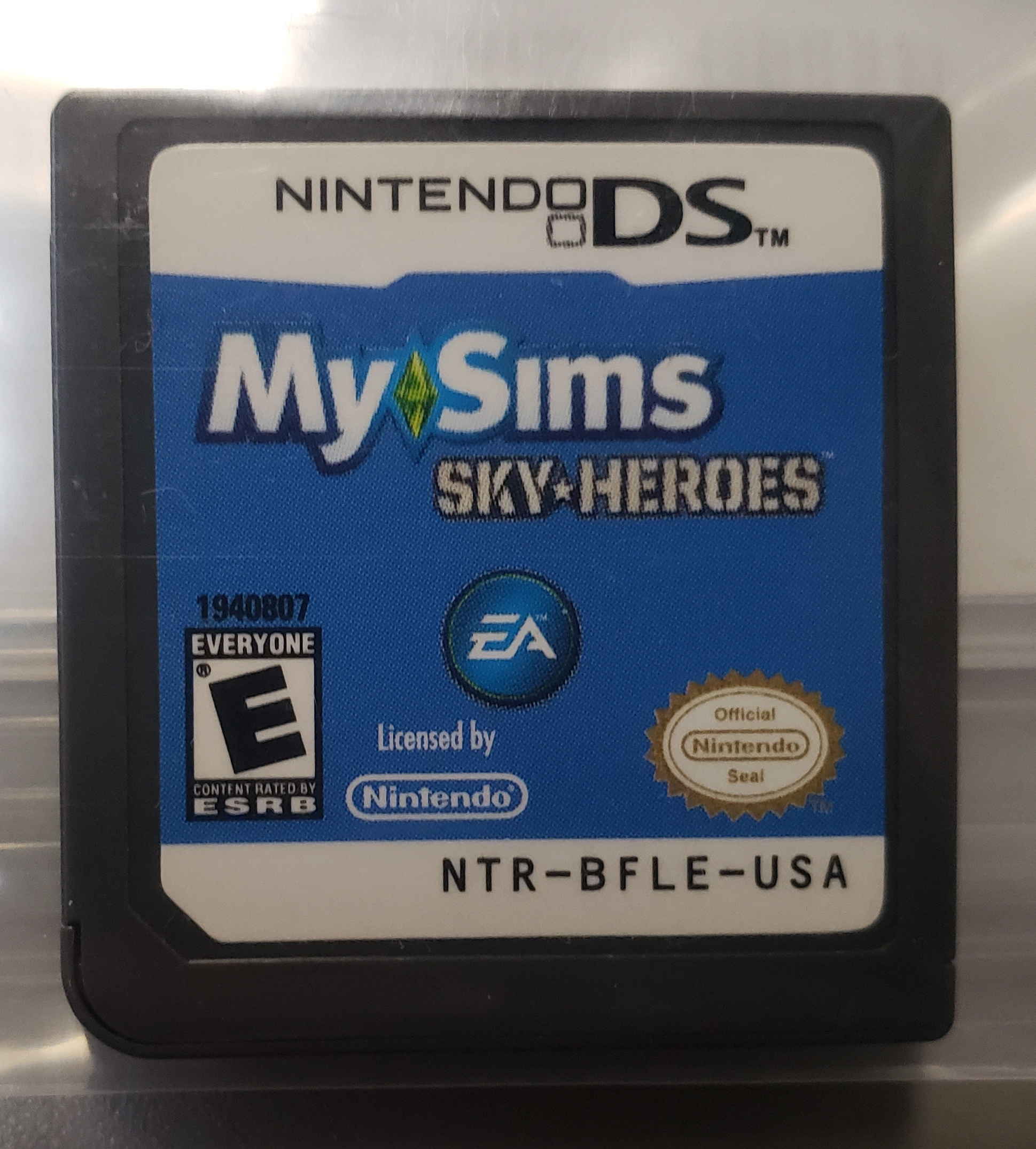 MY SIMS SKY-HEROES, NINTENDO DS GAME