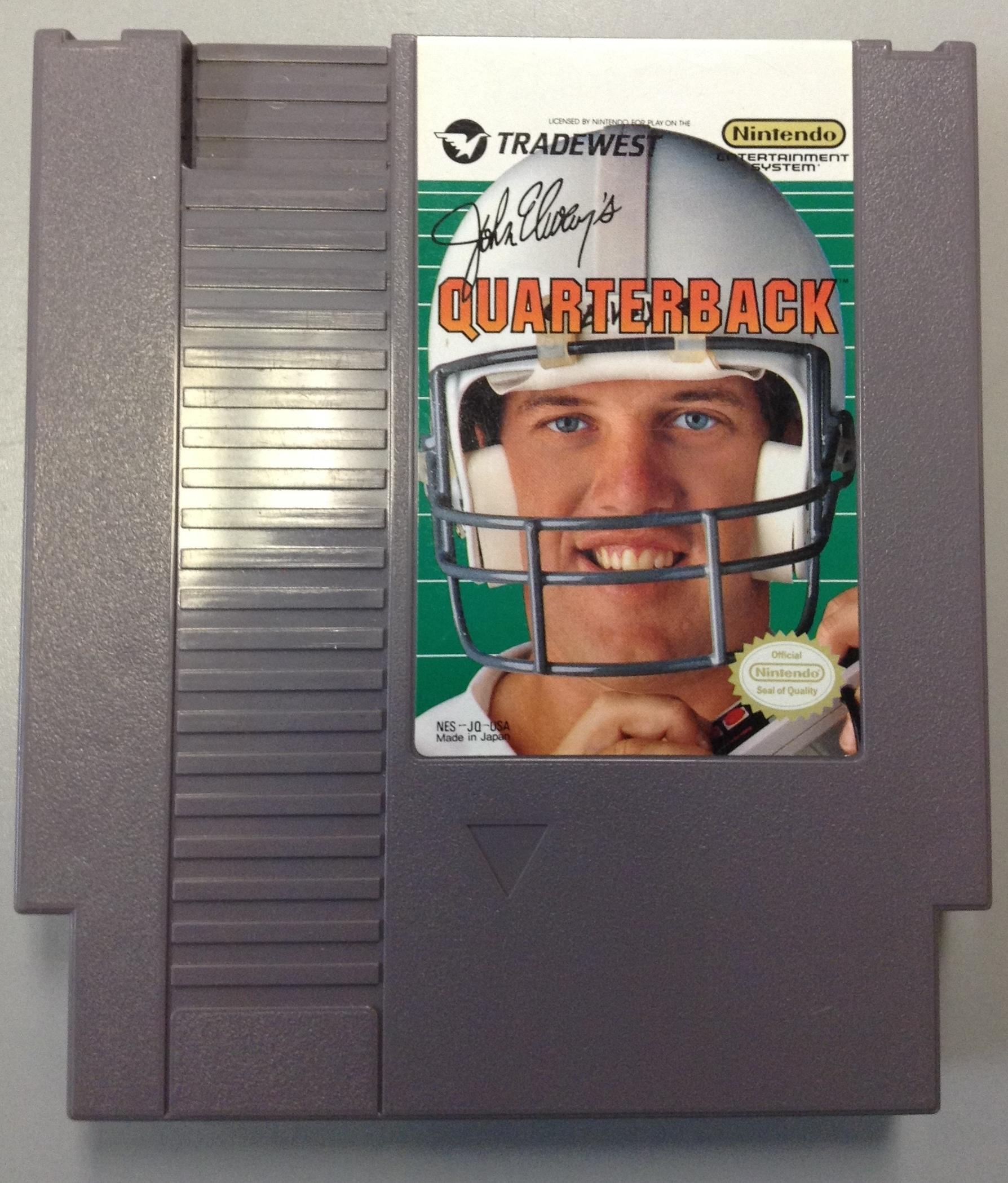 QUARTERBACK NINTENDO GAME- GAME CARTRIDGES/ACCE