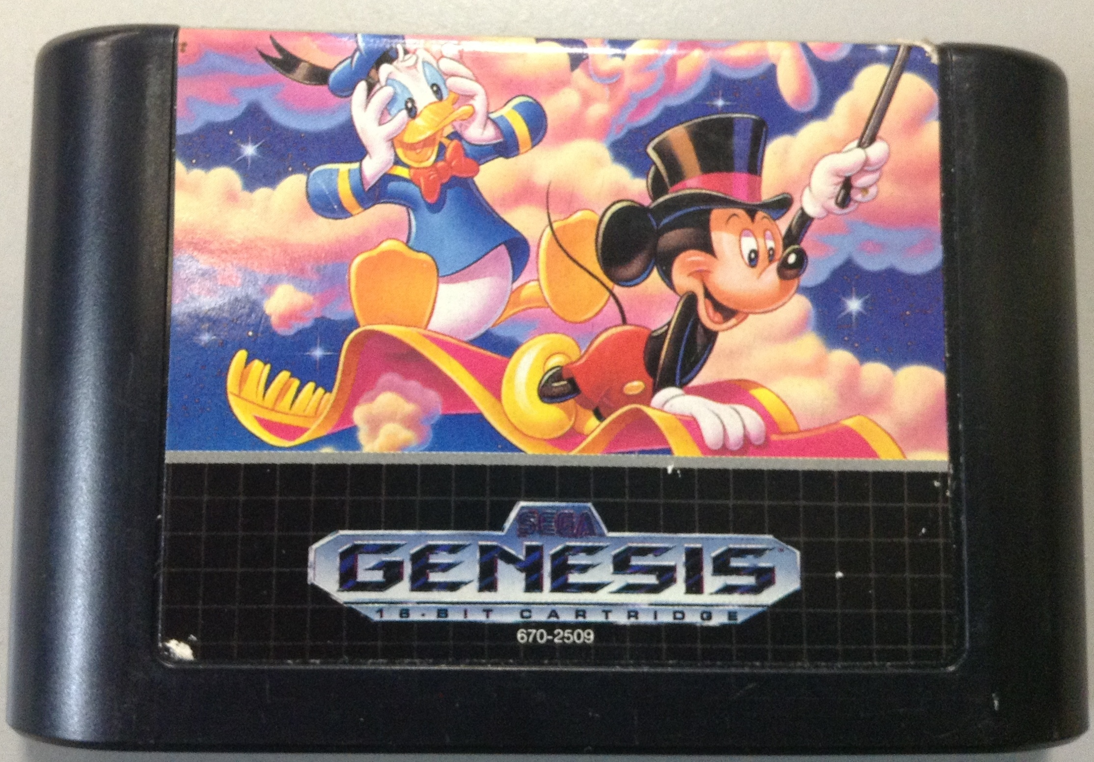 WORLD OF ILLUSION- SEGA GENESIS GAME SYSTEMS