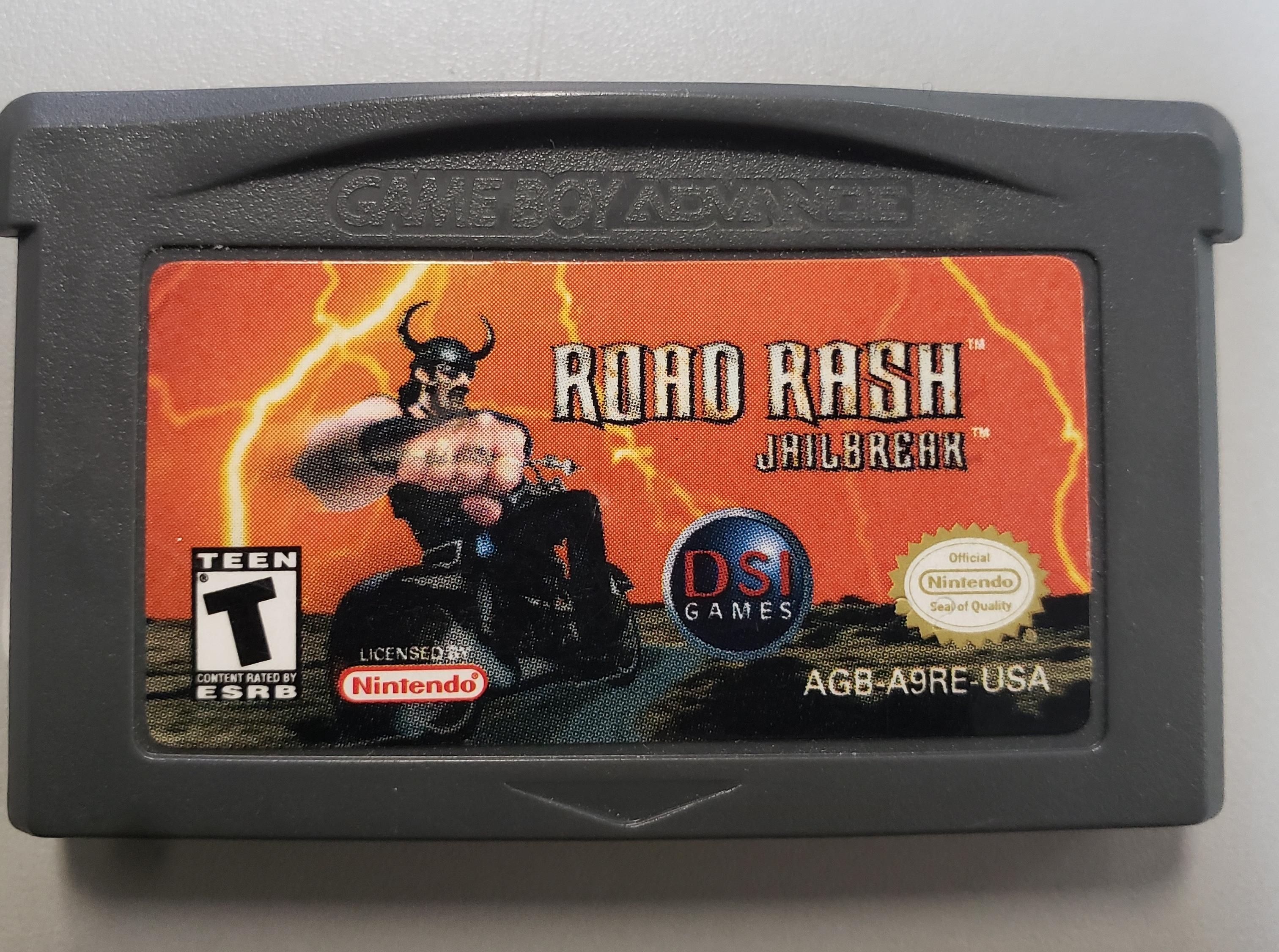 ROAD RASH JAILBREAK - GAMEBOY ADVANCE GAME