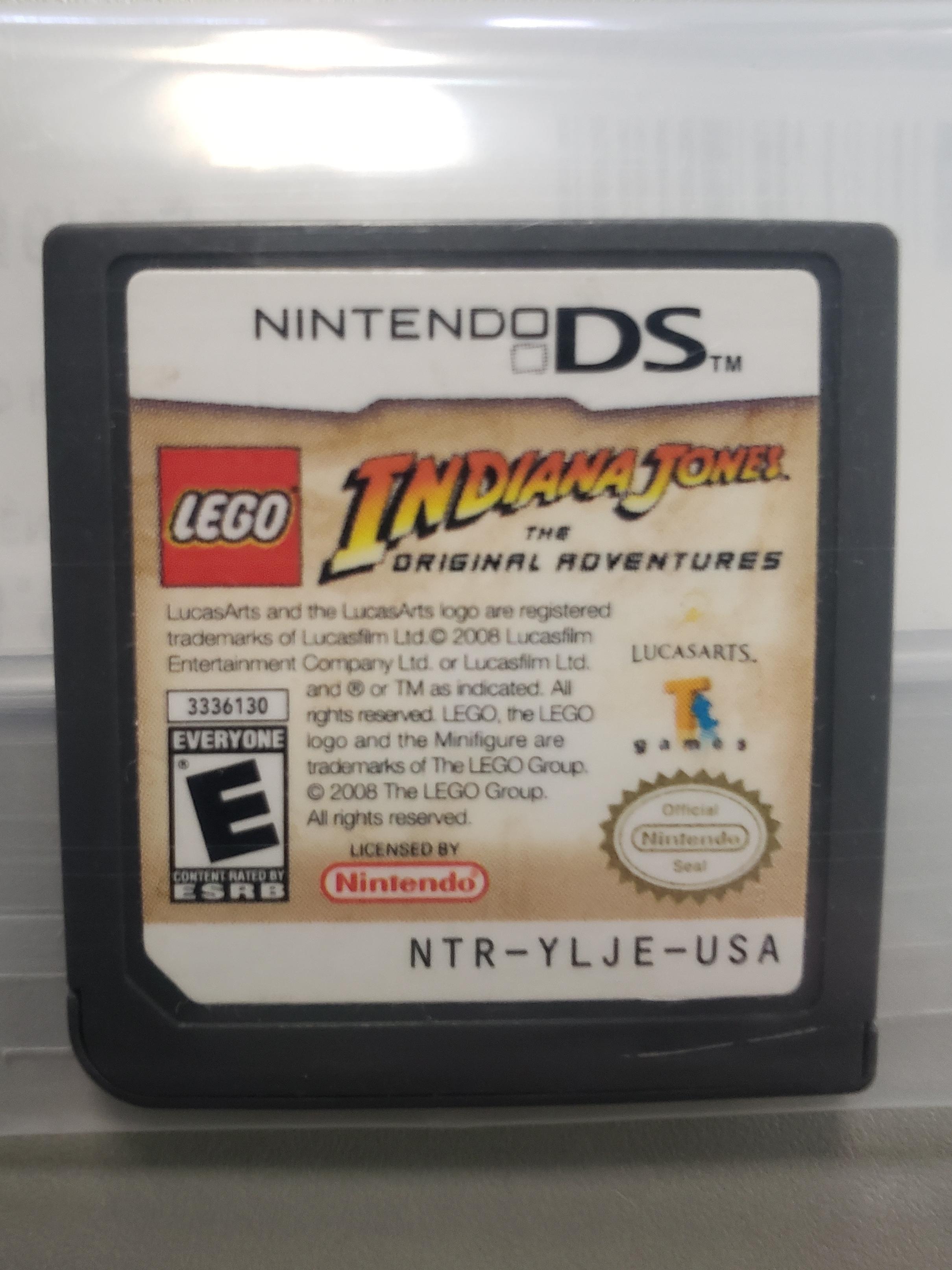 INDIANA JONES THE ORIGINAL ADVENTURES - NINTENDO DS GAME