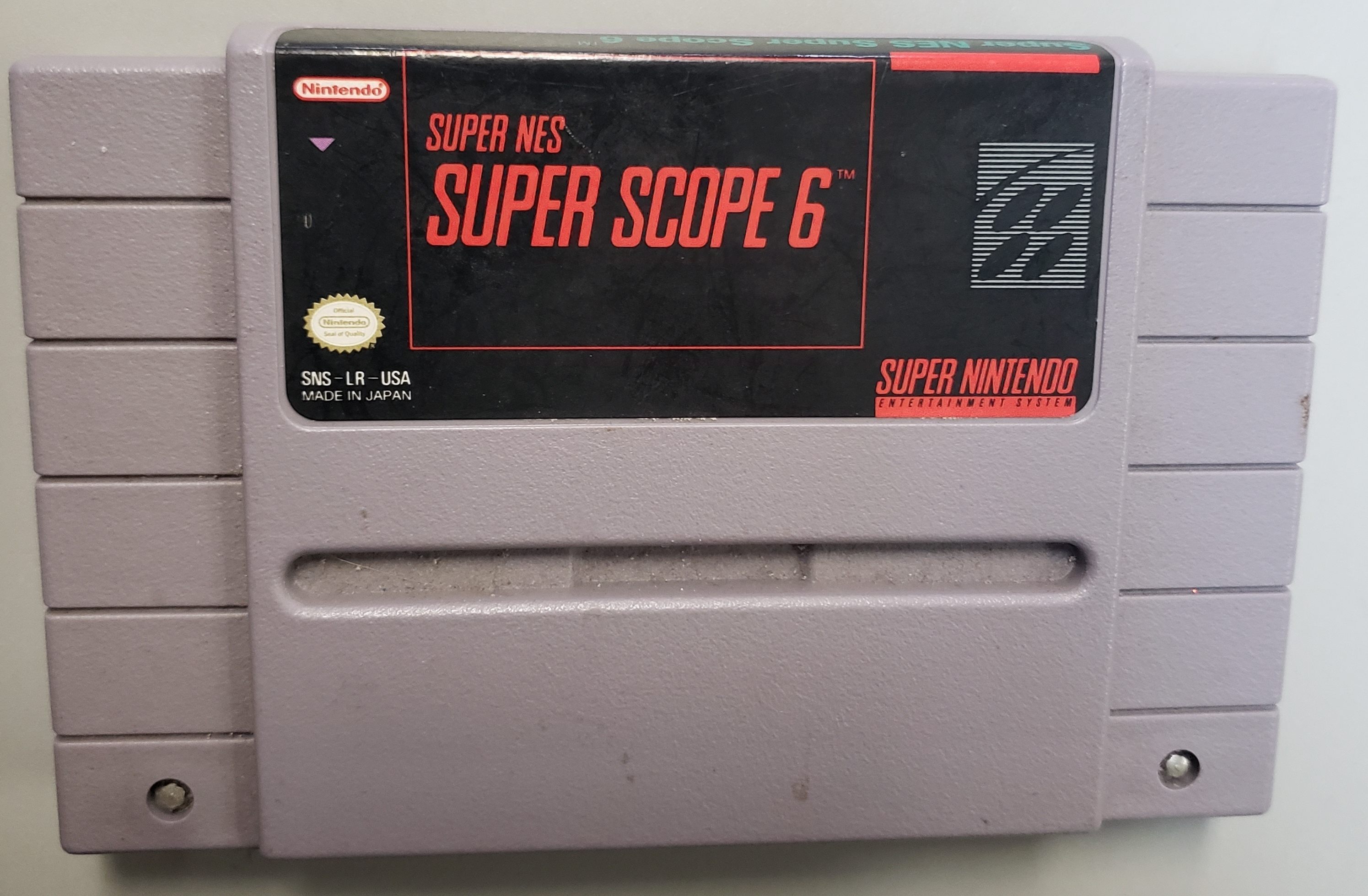 SUPER NES SUPER SCOPE 6 - SUPER NINTENDO GAME