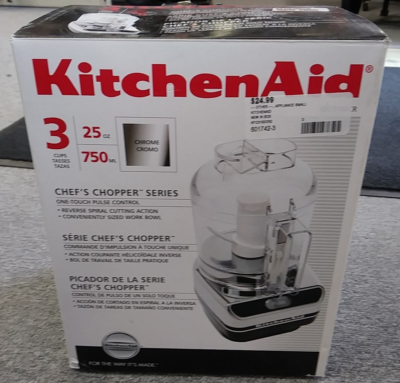 KITCHENAID CHOPPER APPLIANCE