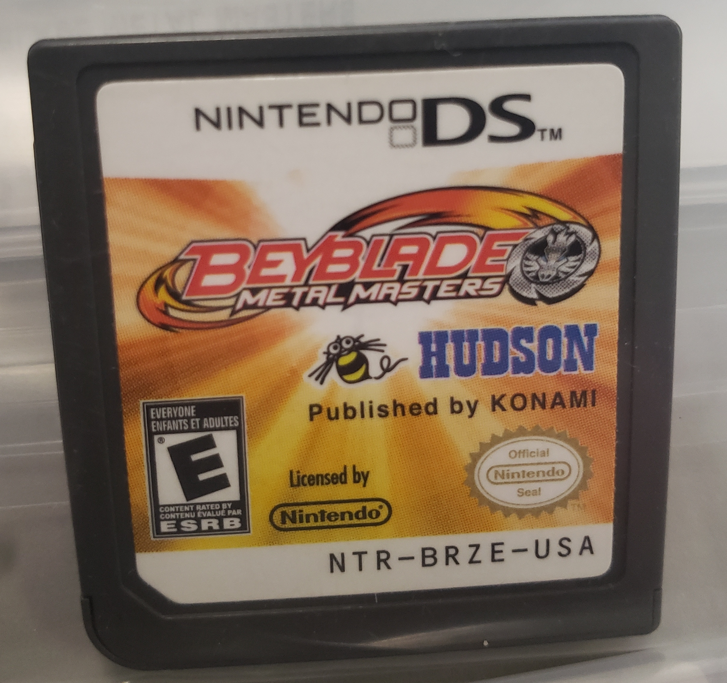 BEYBLADE - METAL MASTERS - NINTENDO DS GAME