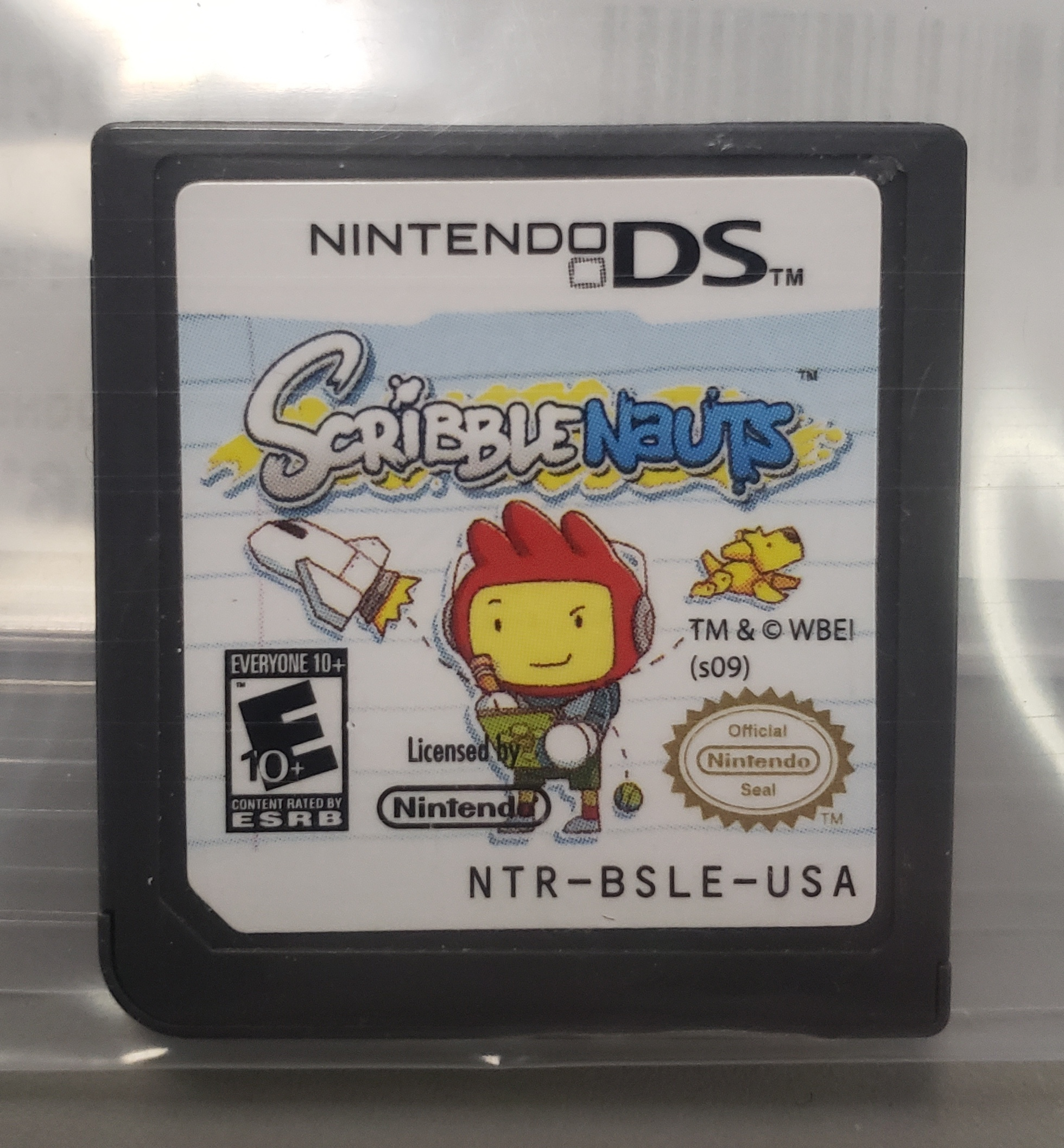 SCRIBBLENAUTS - NINTENDO DS GAME