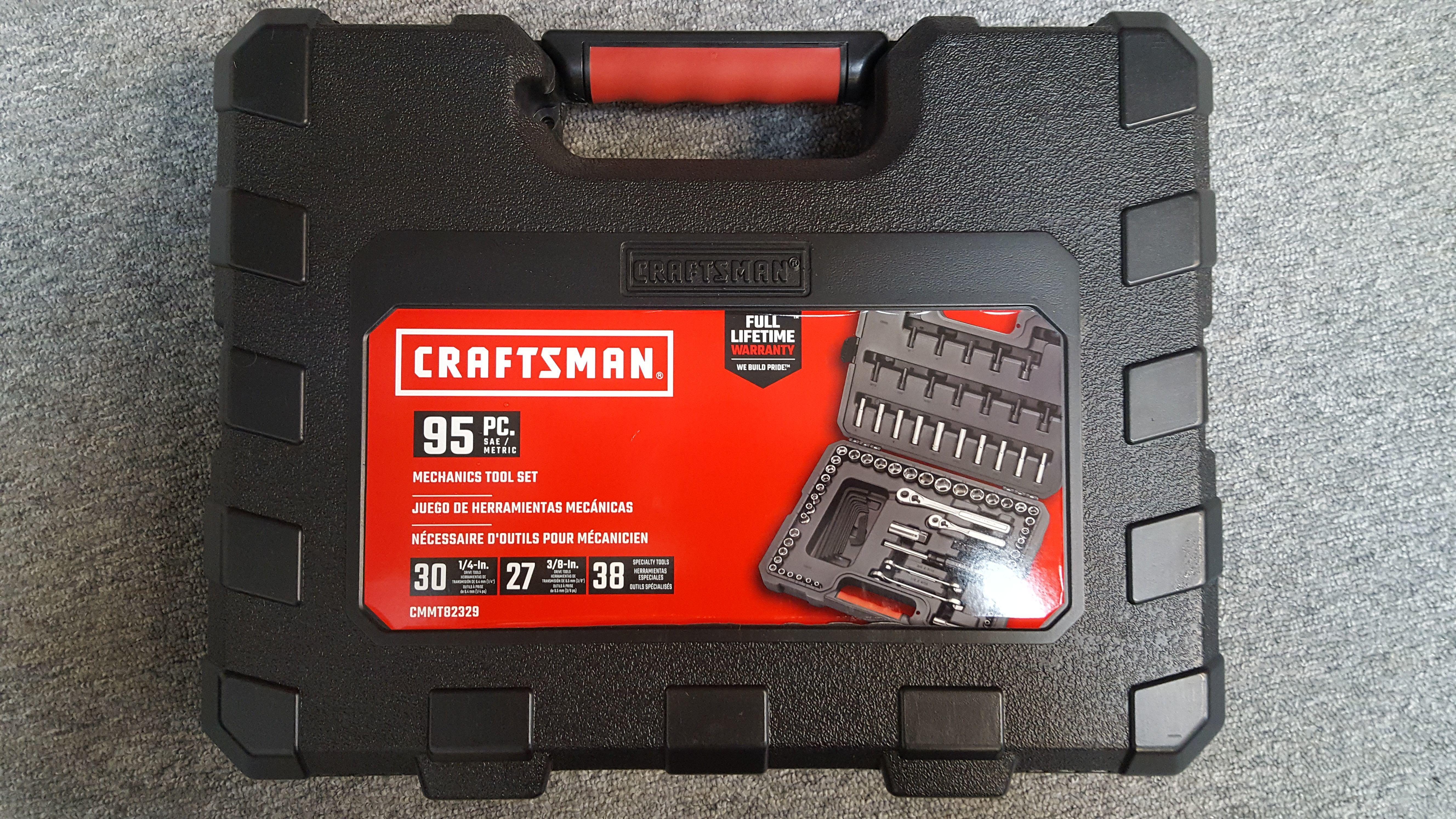 CRAFTSMAN 95PC SOCKET SET