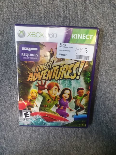 Xbox One Kinect Adventures