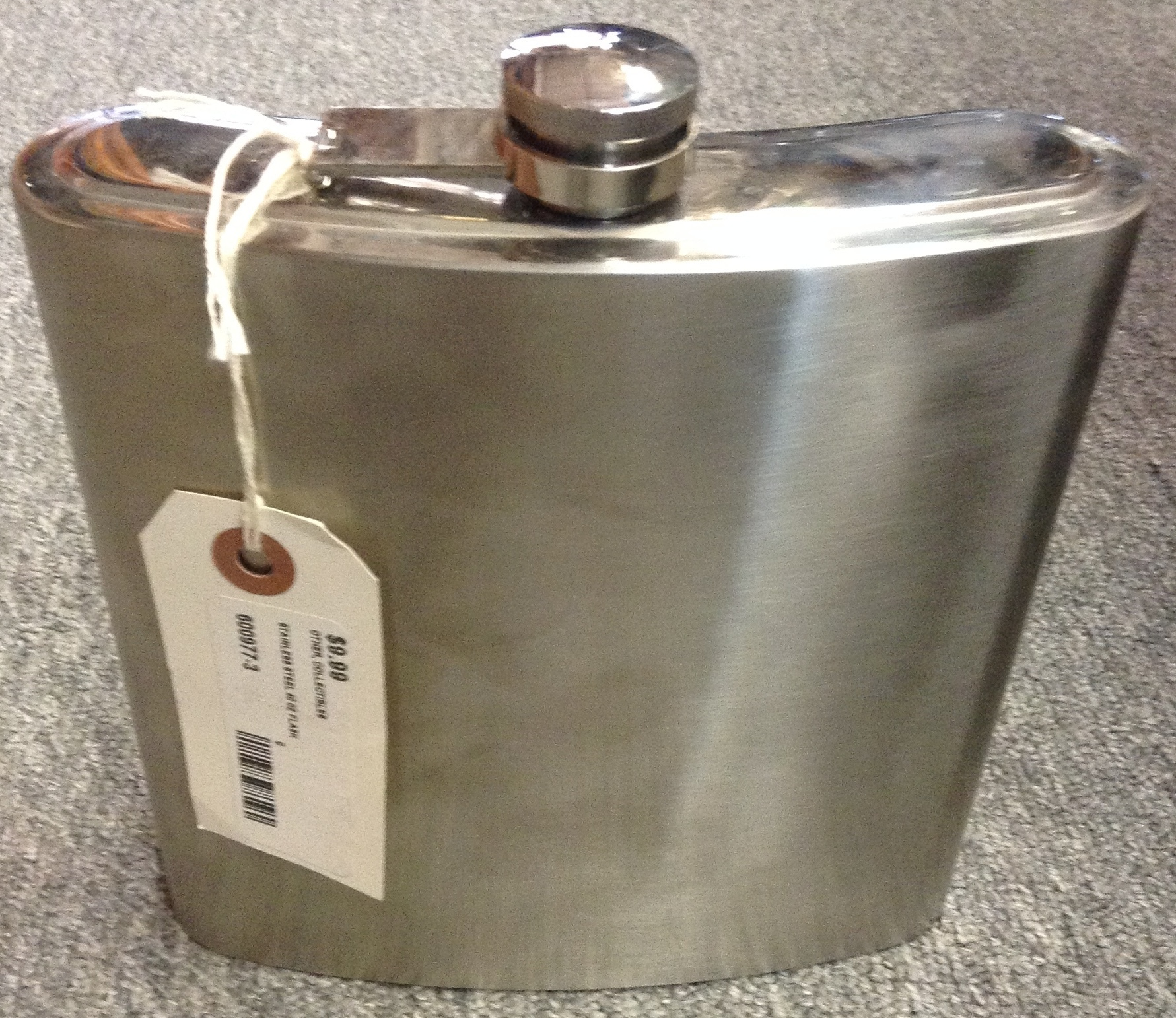 STAINLESS STEEL 40 OZ FLASK