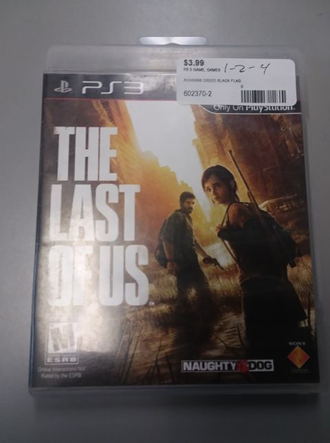 THE LAST OF US - PS3 GAME