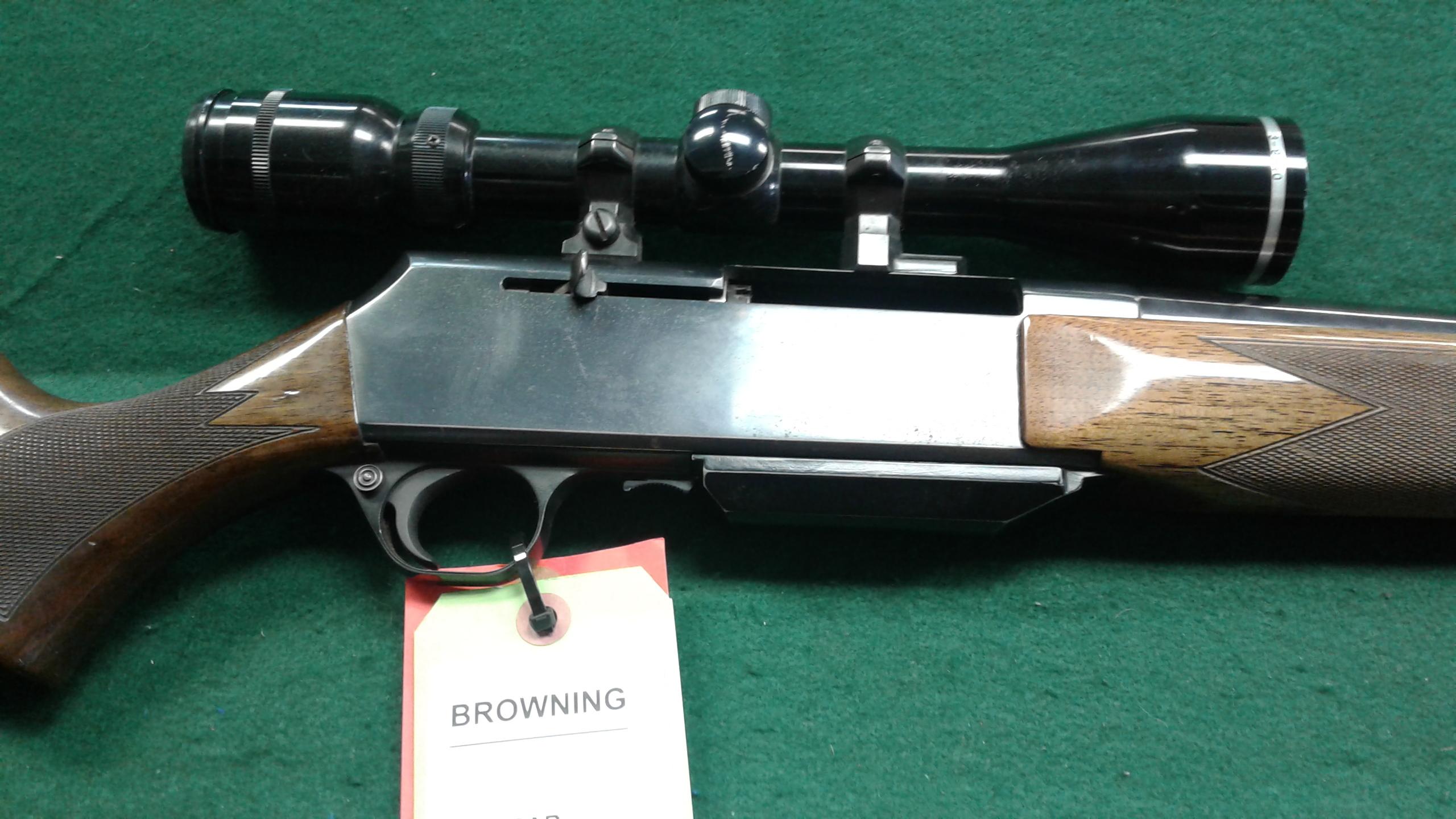 BROWNING BAR 7MM REM MAG RIFLE - Semi Auto Rifles at
