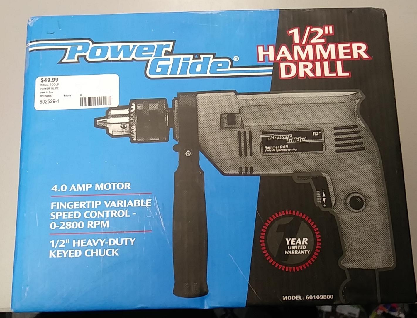 POWER GLIDE - 60109800 - DRILL