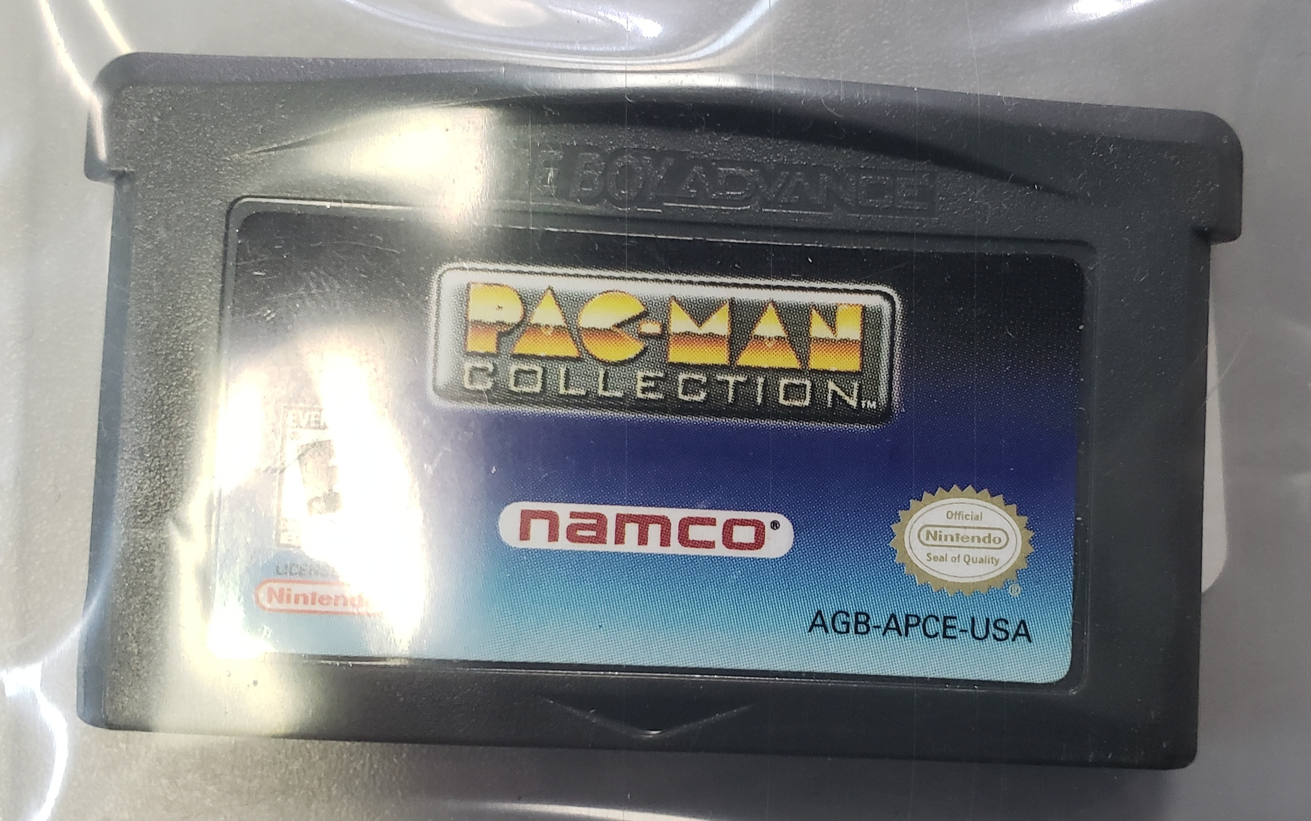 GAME BOY ADVANCE: PACMAN COLLECTION