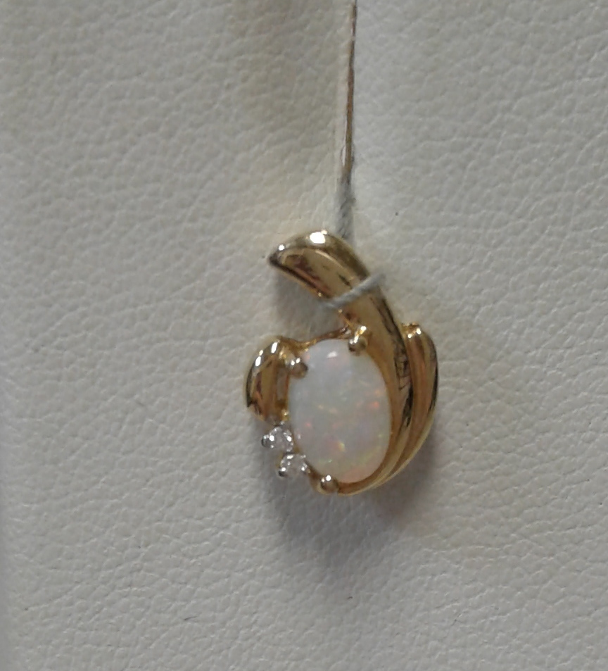 OVAL-LIKE NECKLACE CHARM