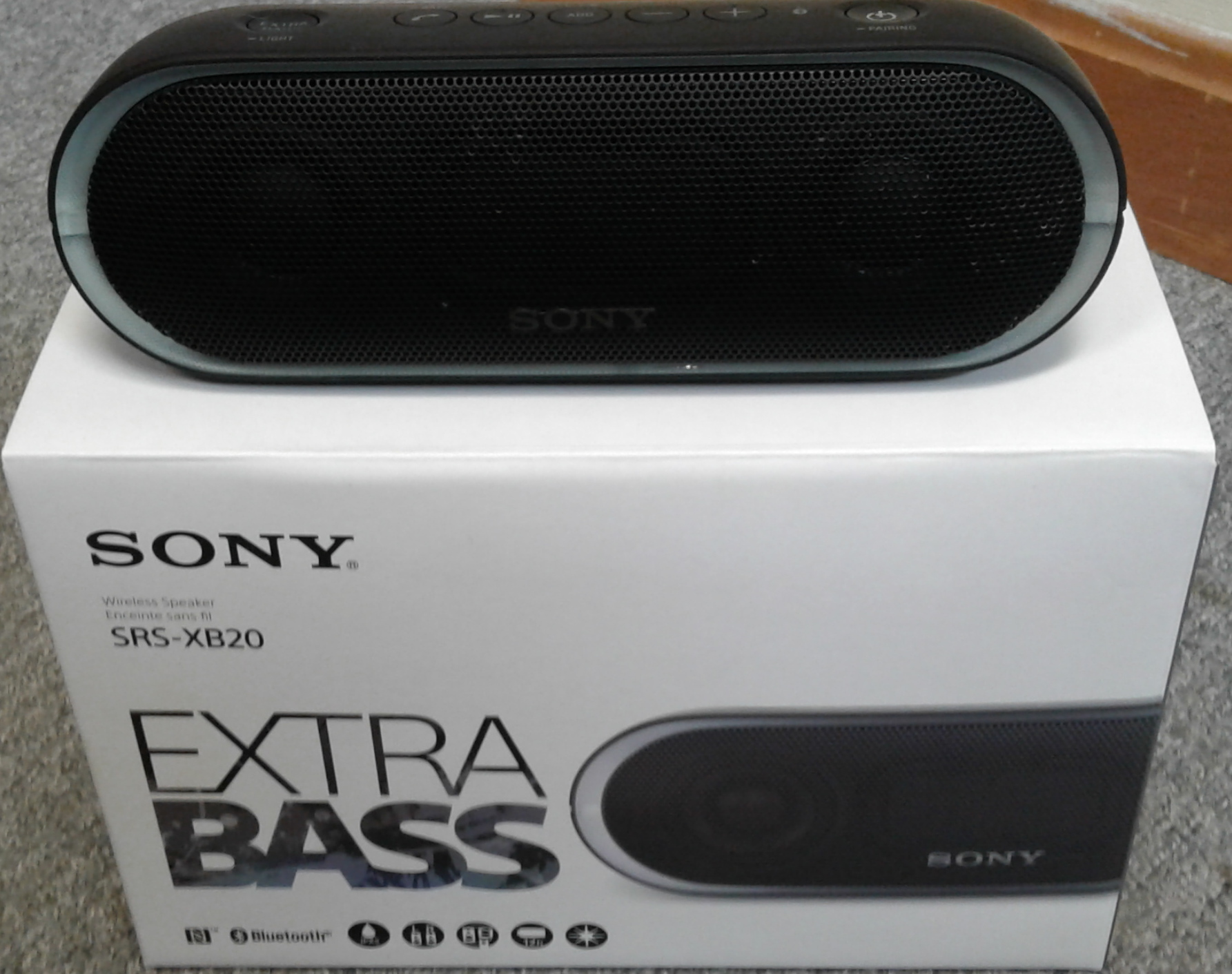 SONY SRS-XB20/BC STEREO-PORTABLE