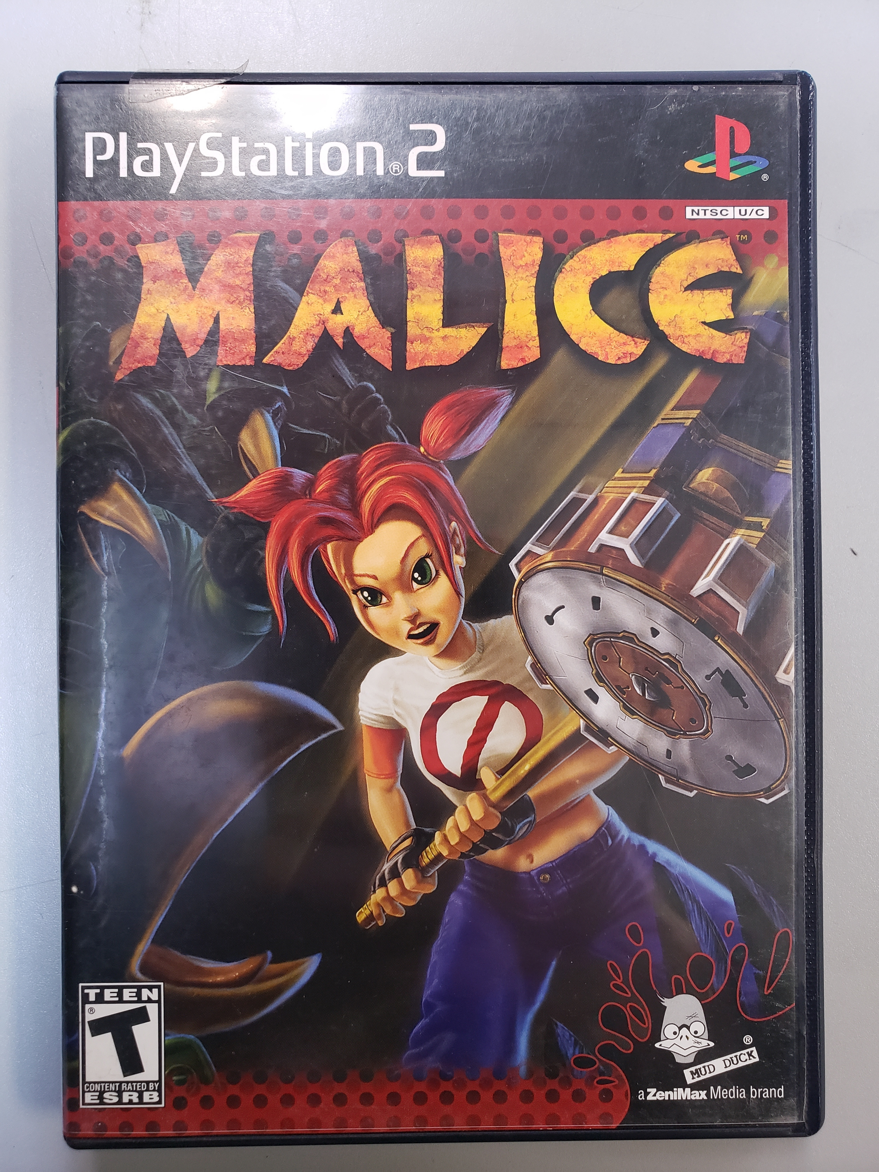 MALICE - PS2 GAME
