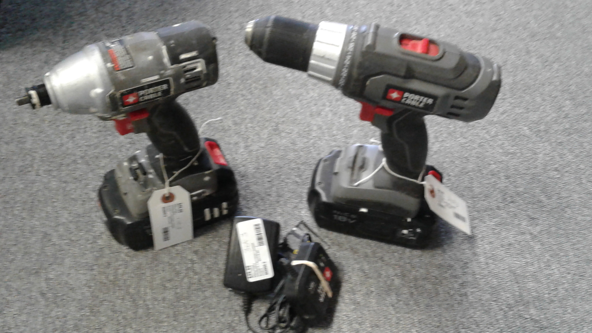 PORTER CABLE - PC1801D & PC1801ID - IMPACT & DRILL DRIVER