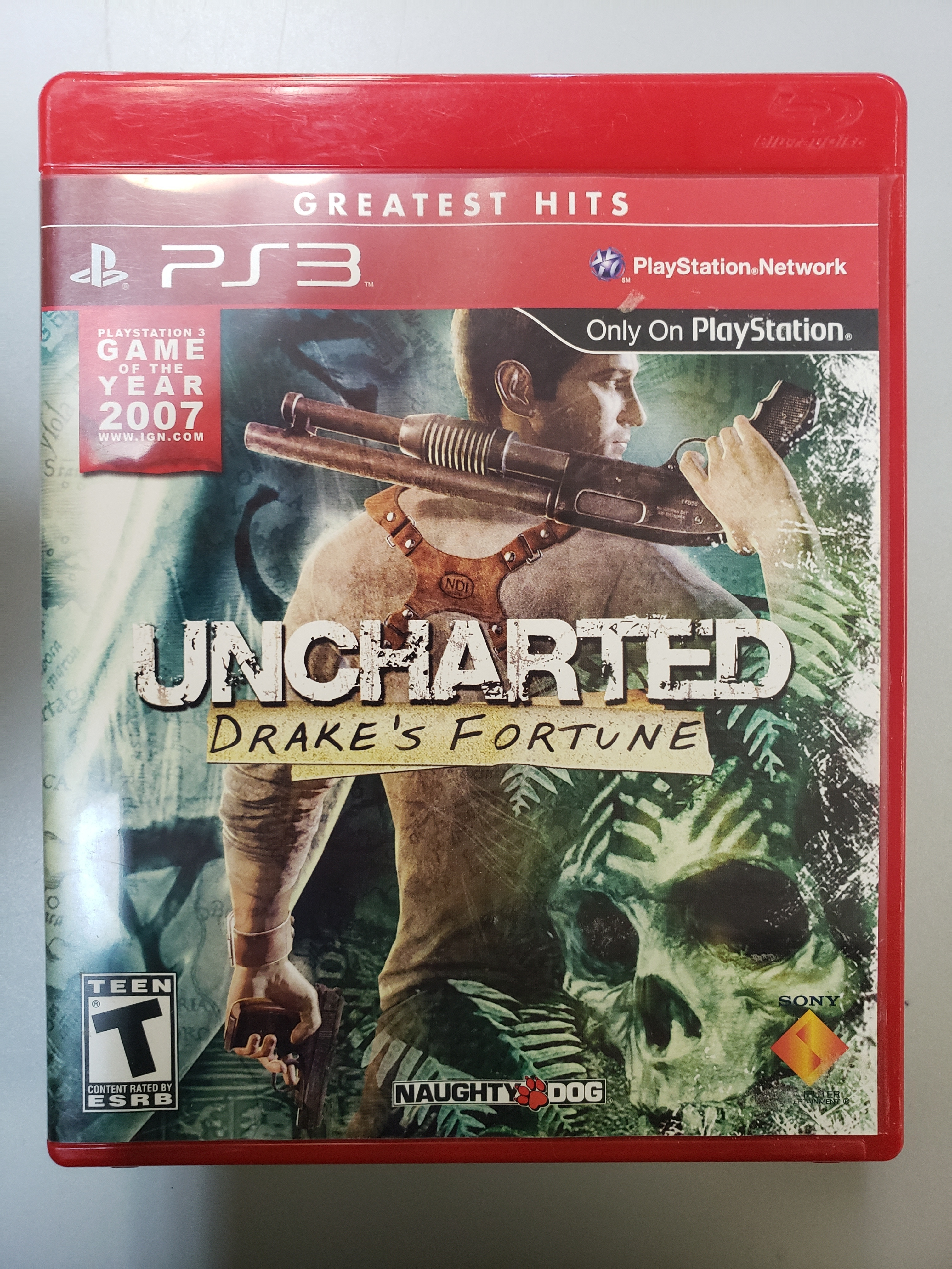 UNCHARTED: DRAKE'S FORTUNE - PS3 GAME