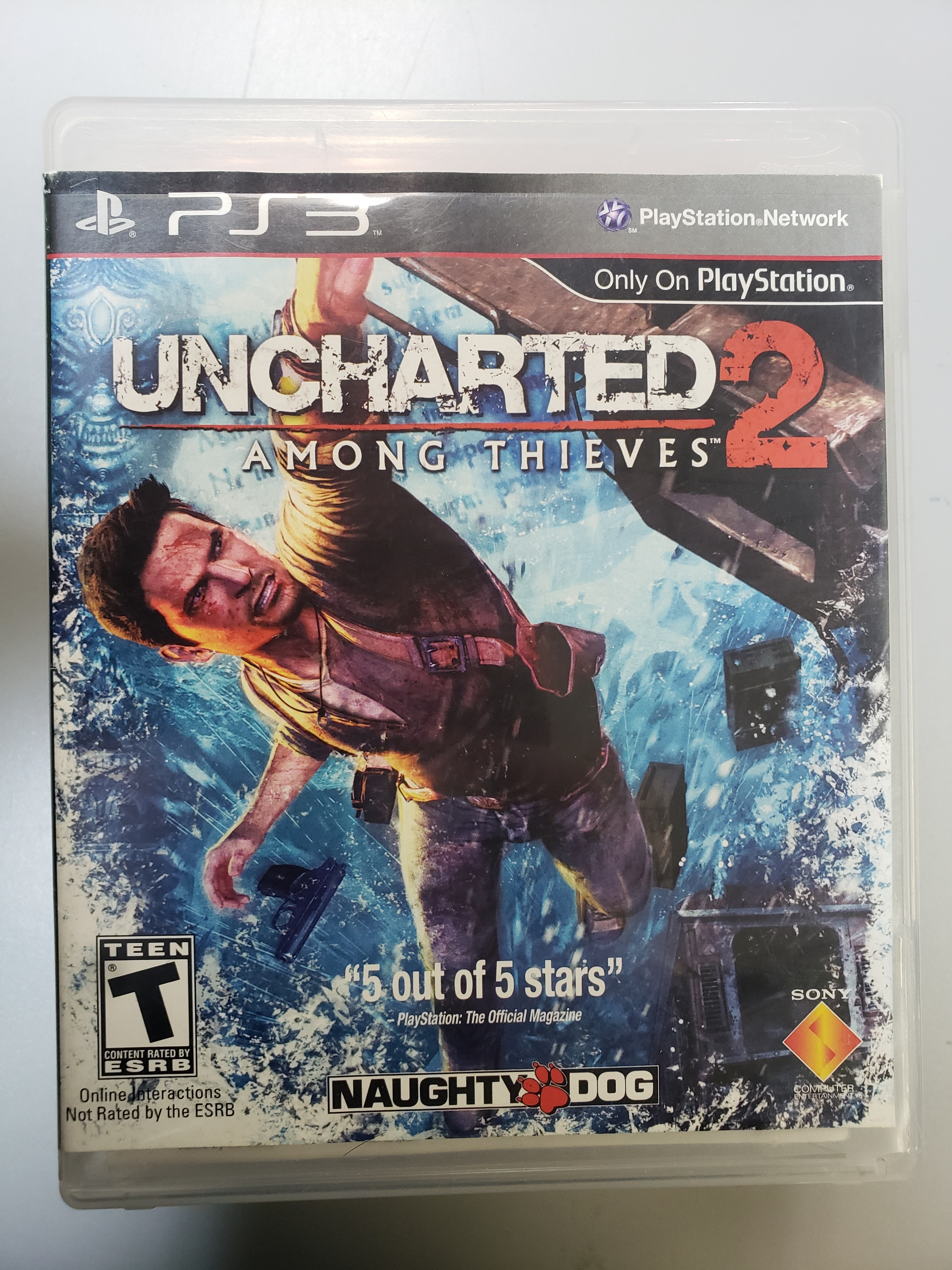 UNCHARTED 2: AMONG THIEVES - PS3 GAME