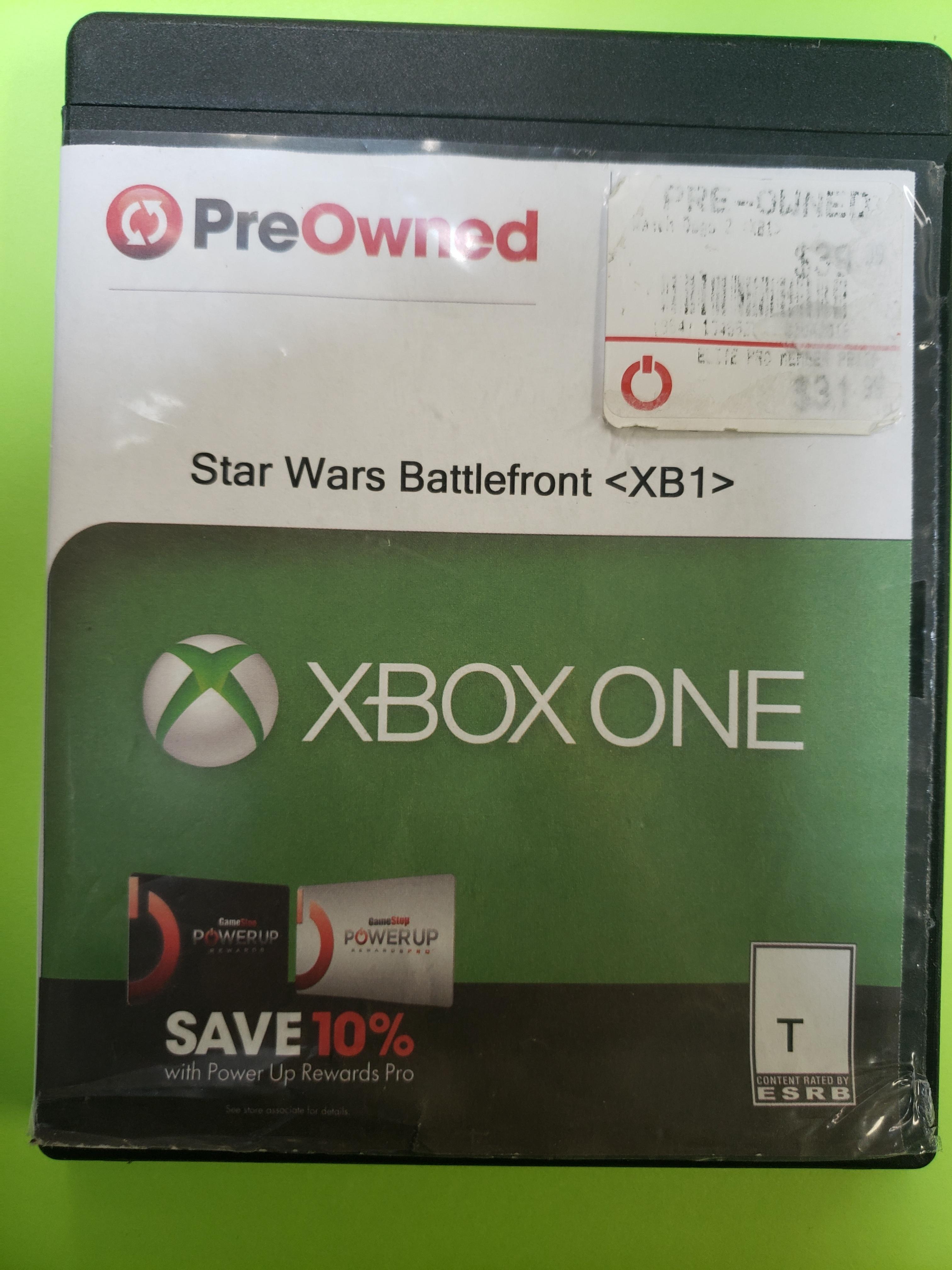 STAR WARS: BATTLEFRONT - XBOX ONE GAME