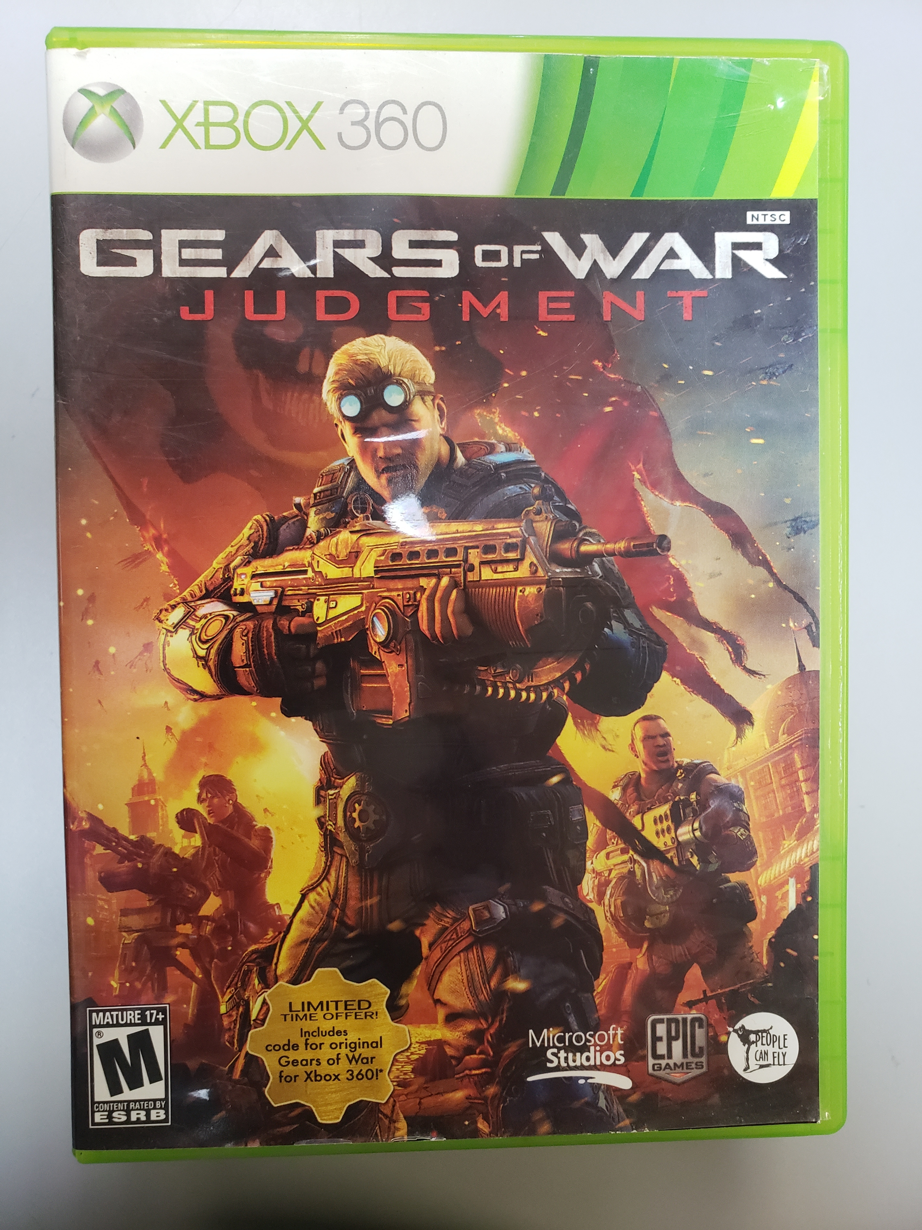 GEARS OF WAR: JUDGEMENT - XBOX 360 GAME