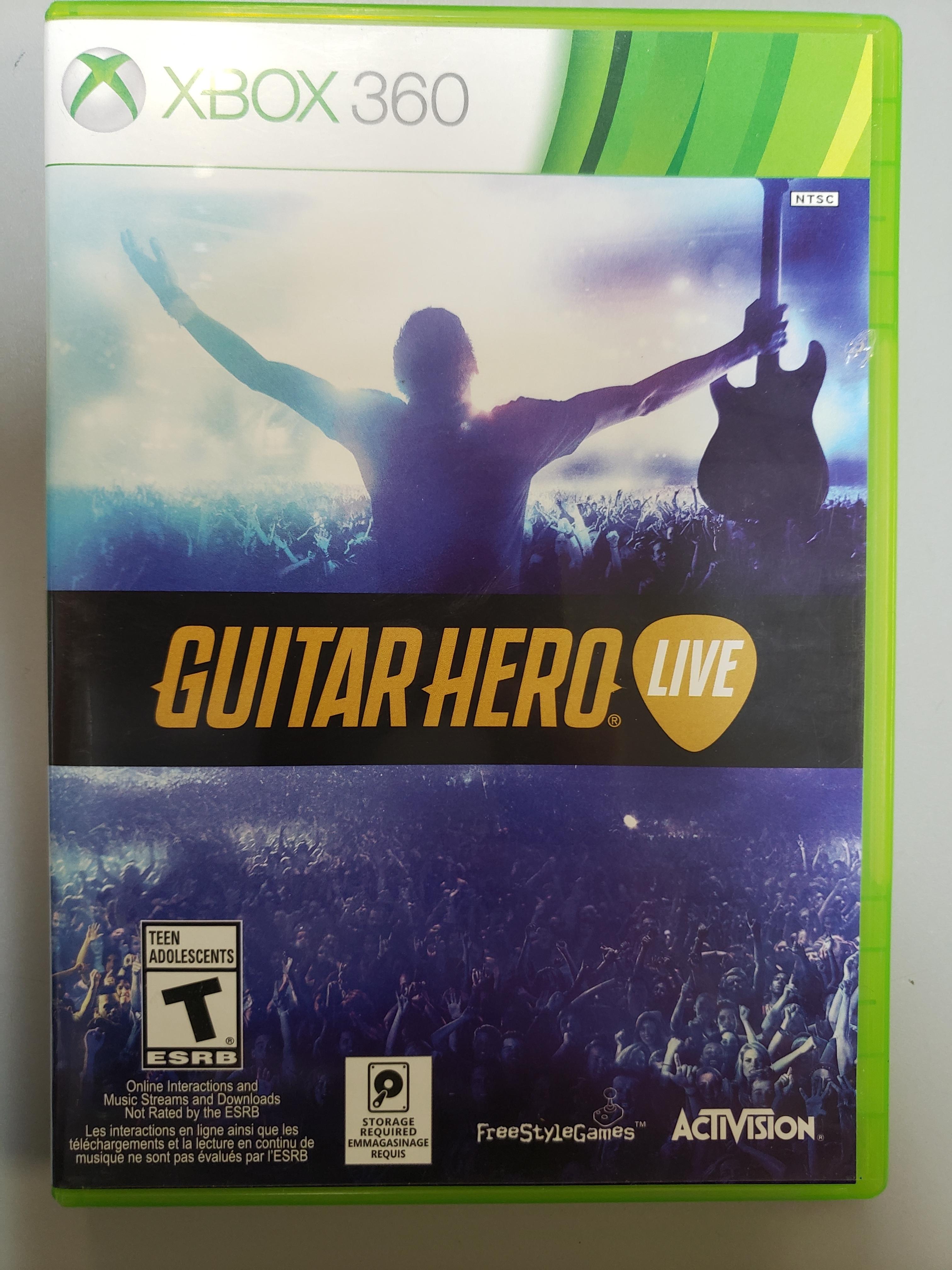 GUITAR HERO LIVE - XBOX 360 GAME