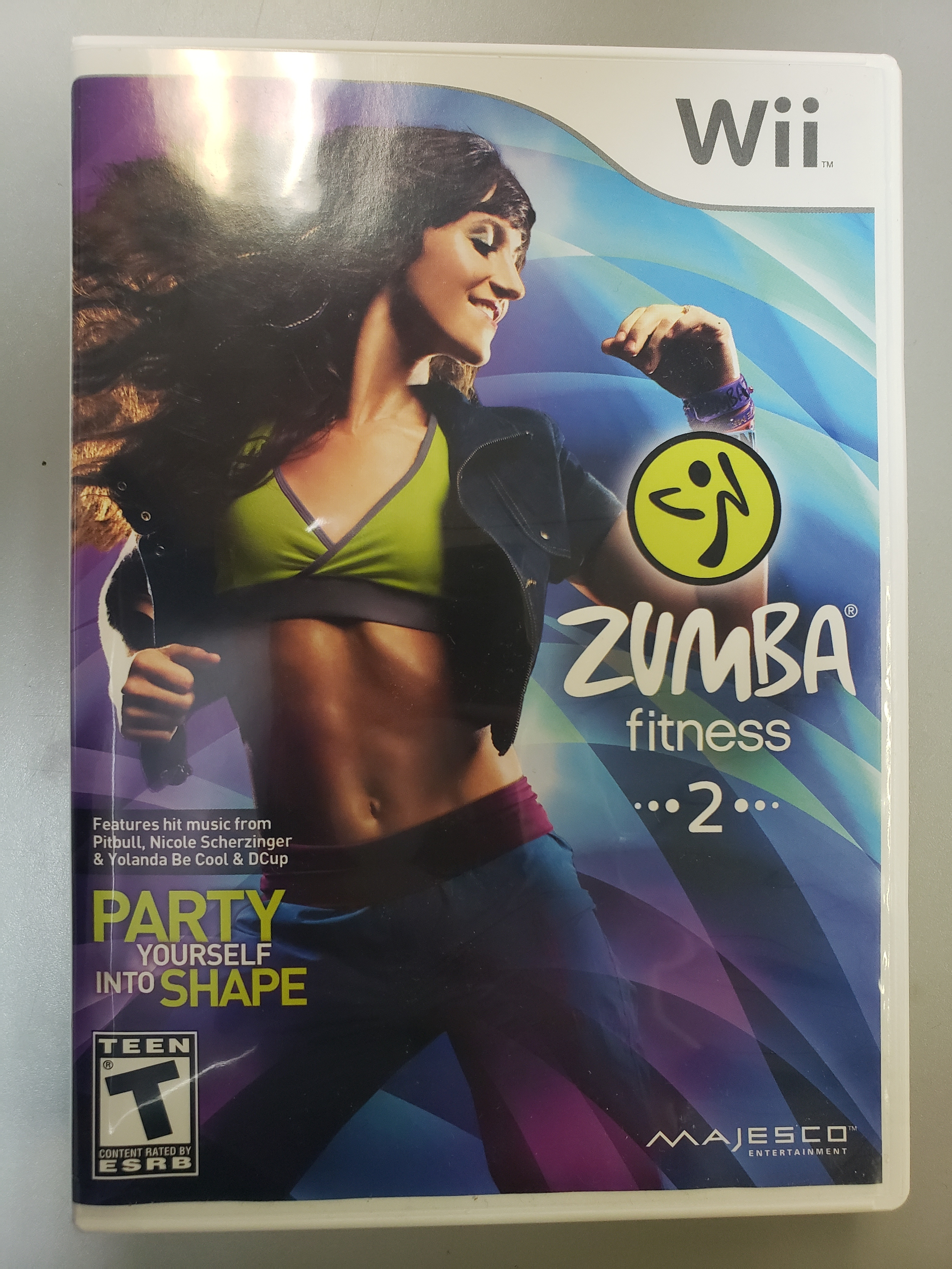 ZUMBA FITNESS 2 - WII GAME