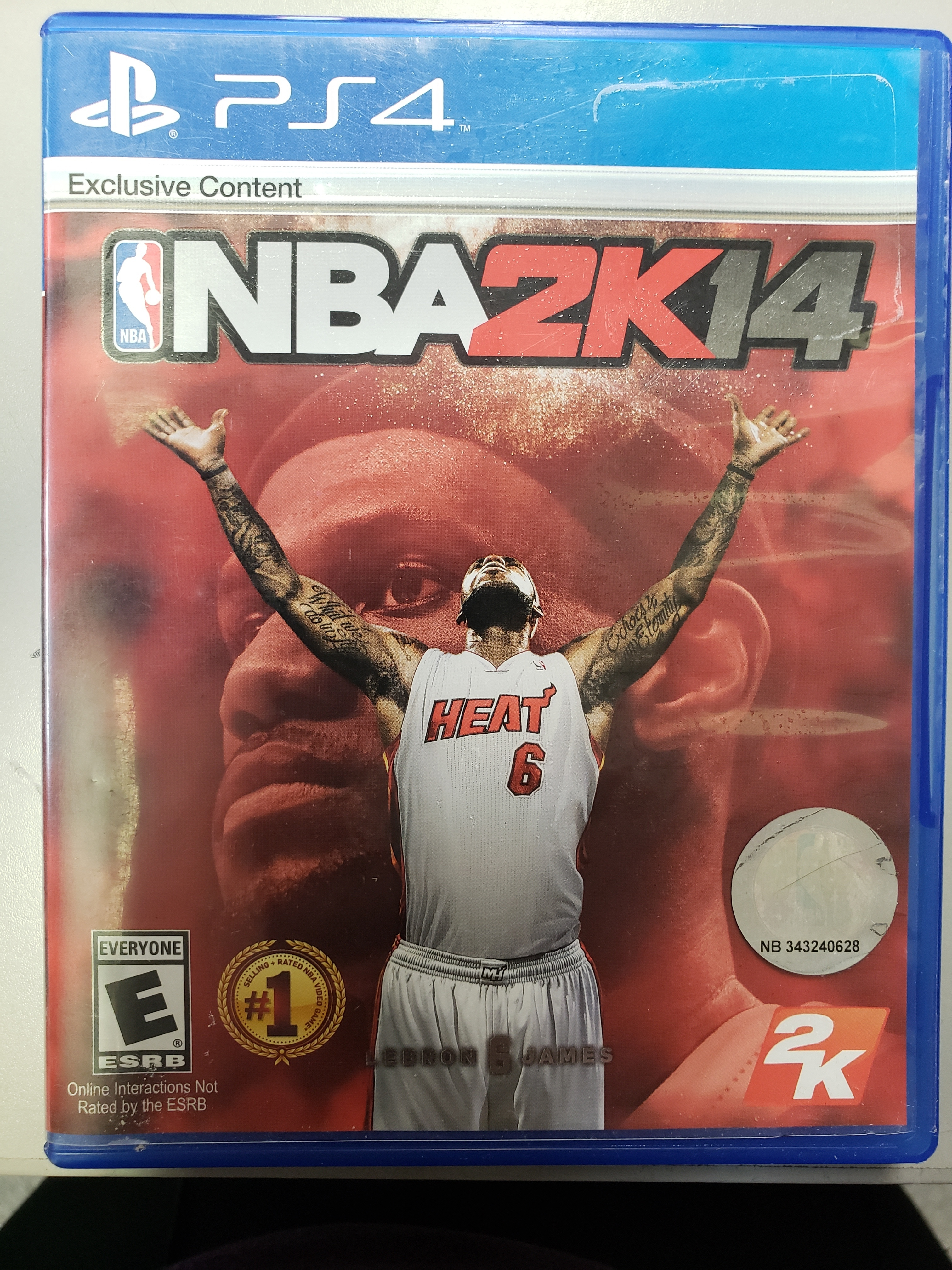 NBA 2K14 - PS4 GAME