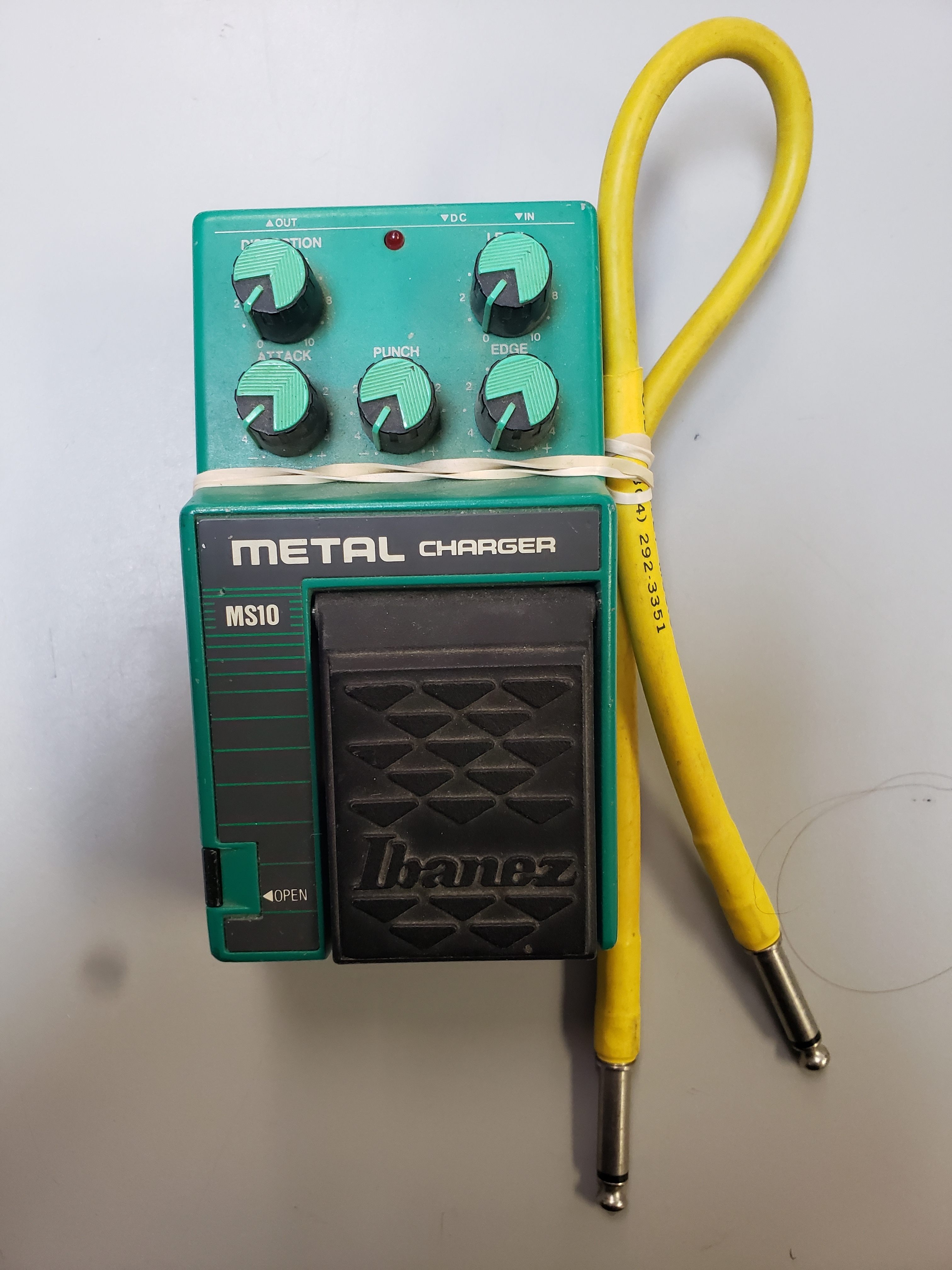 IBANEZ - MS10 - METAL CHARGER EFFECTS PEDAL W/ CORD