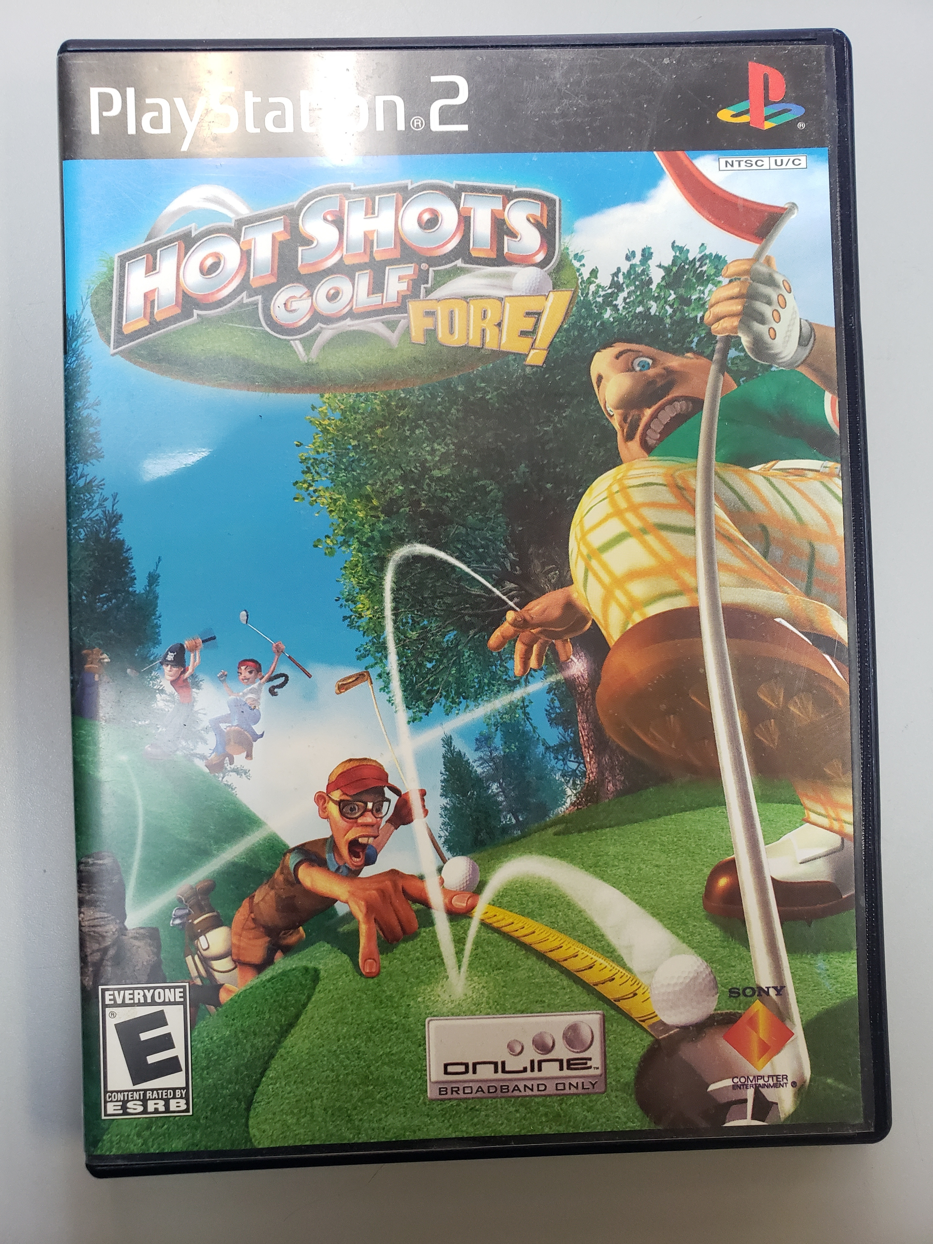 HOT SHOTS GOLF: FORE! - PS2 GAME