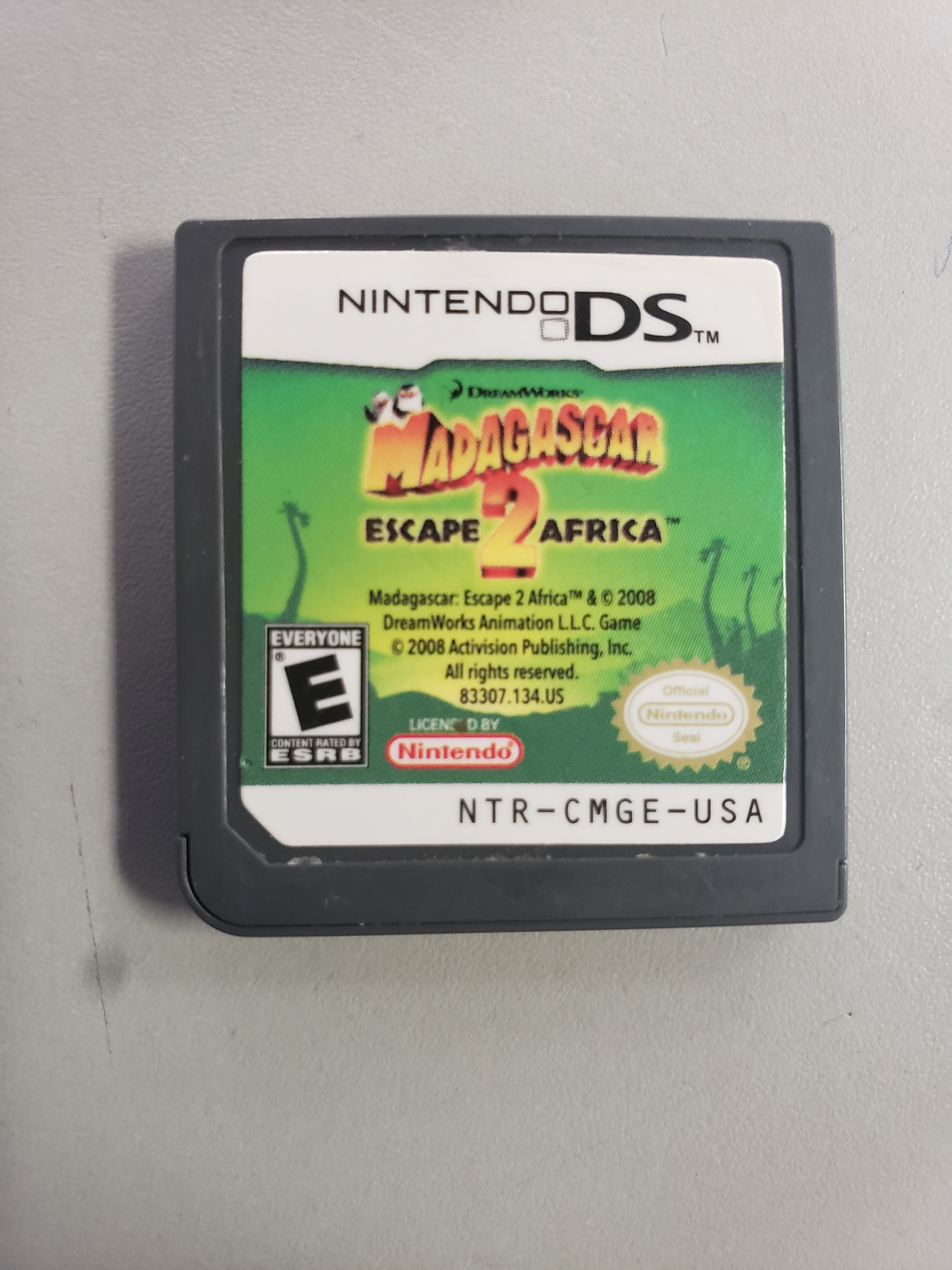 MADAGASCAR 2 - NINTENDO DS GAME